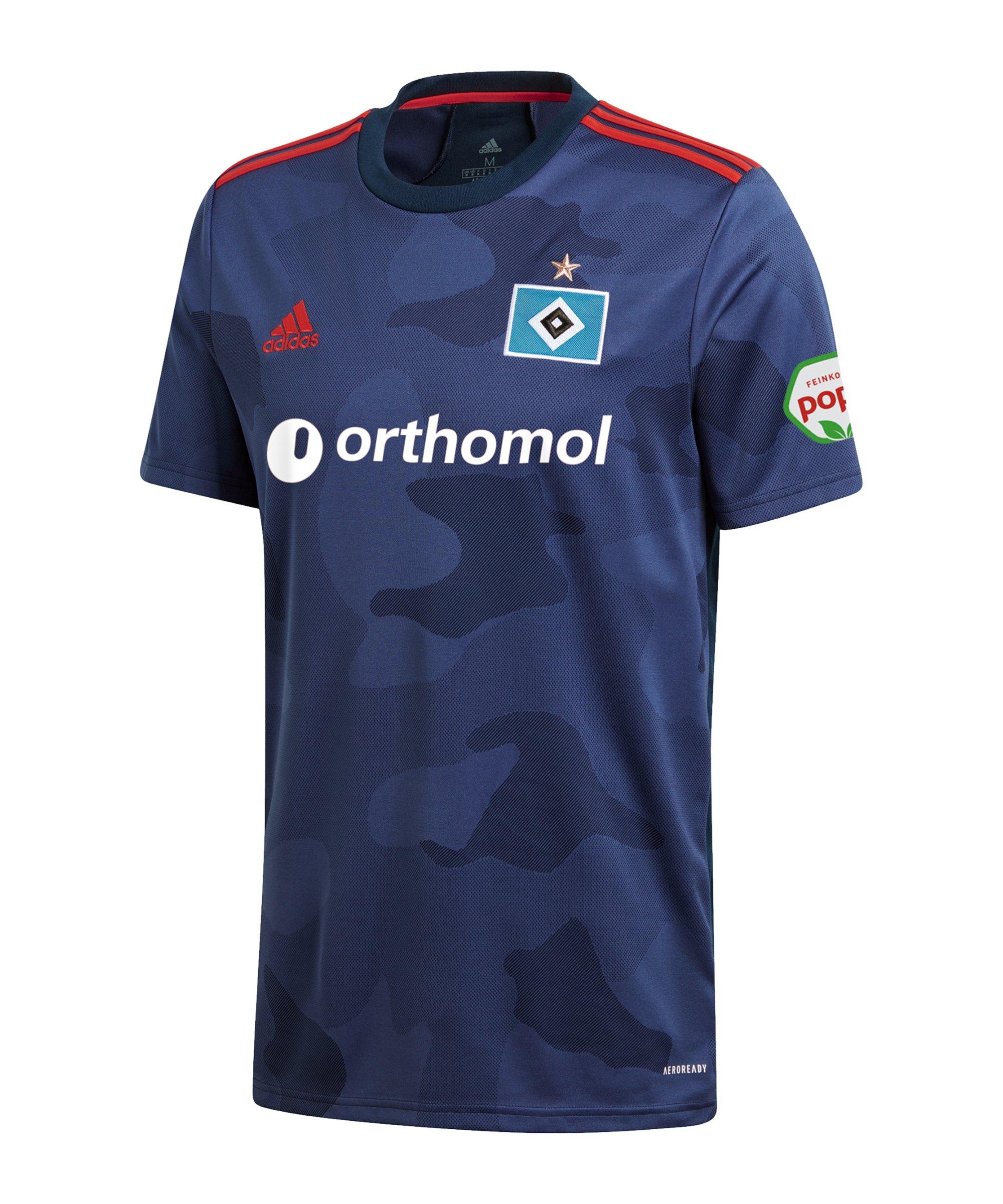 adidas Hamburger SV Trikot Away 2020/2021 Blau - blau