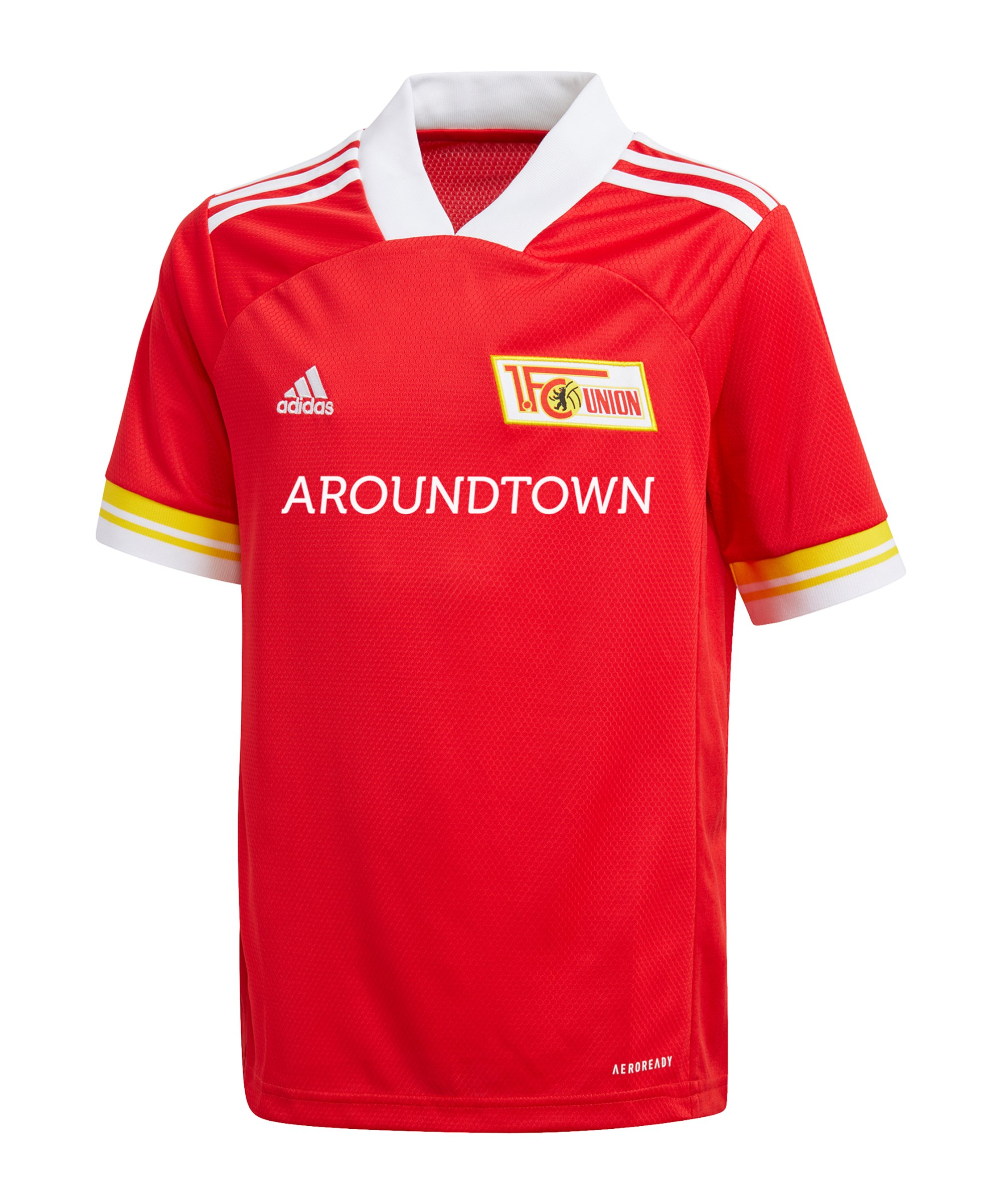 adidas 1. FC Union Berlin Trikot Home 2020/2021 Kids Rot - rot