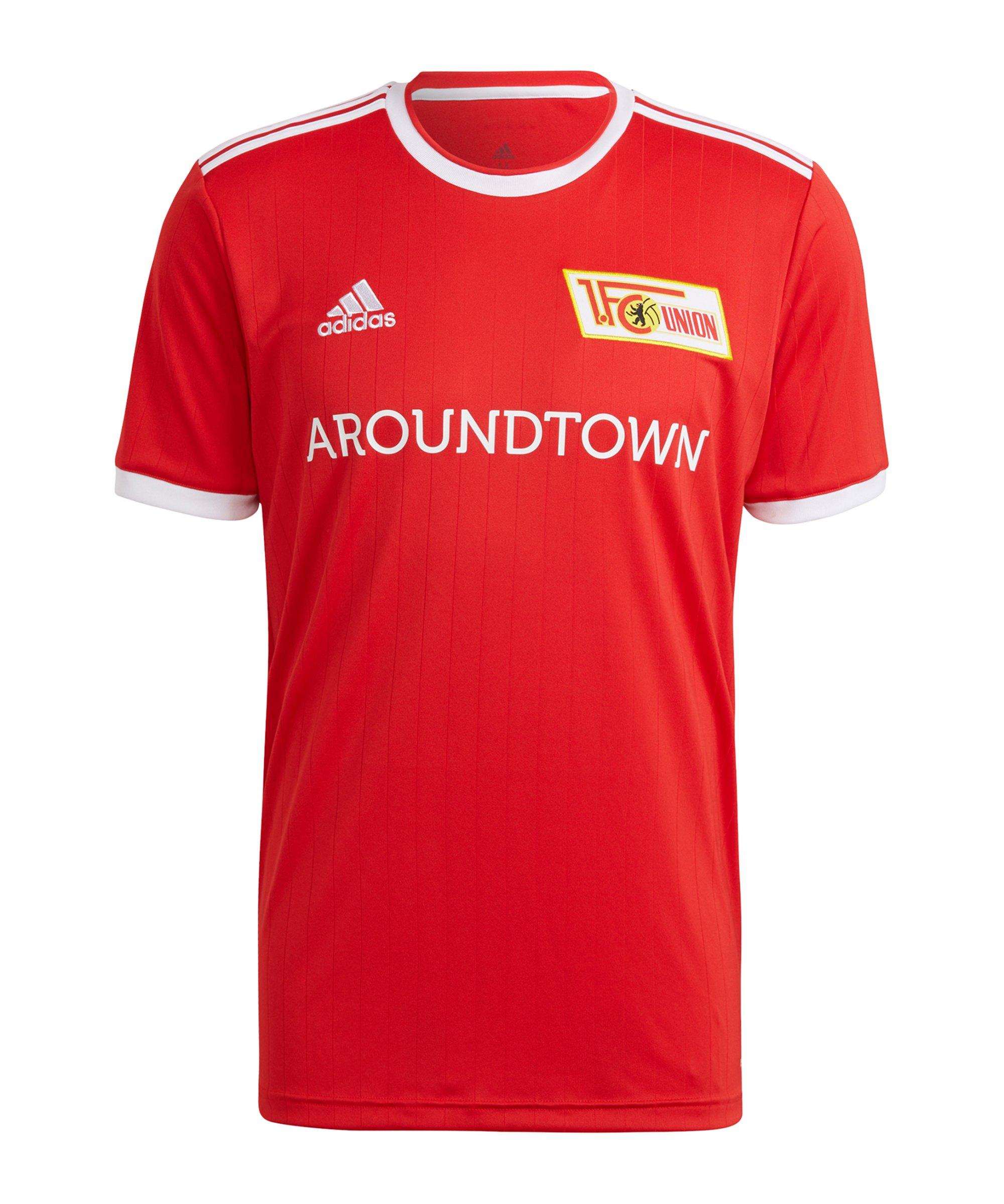adidas 1. FC Union Berlin Trikot Home 2021/2022 Kids Rot - rot