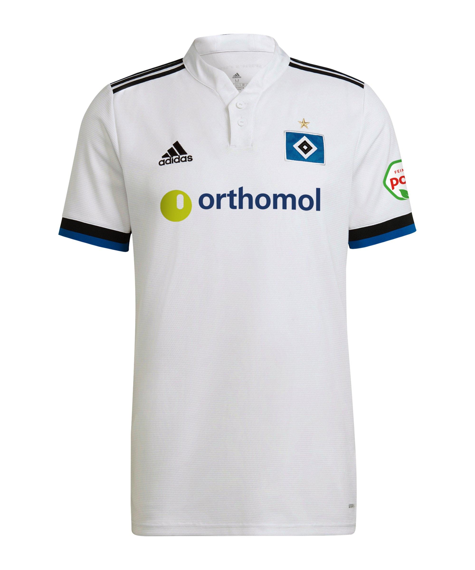 adidas Hamburger SV Trikot Home 2021/2022 Weiss - weiss