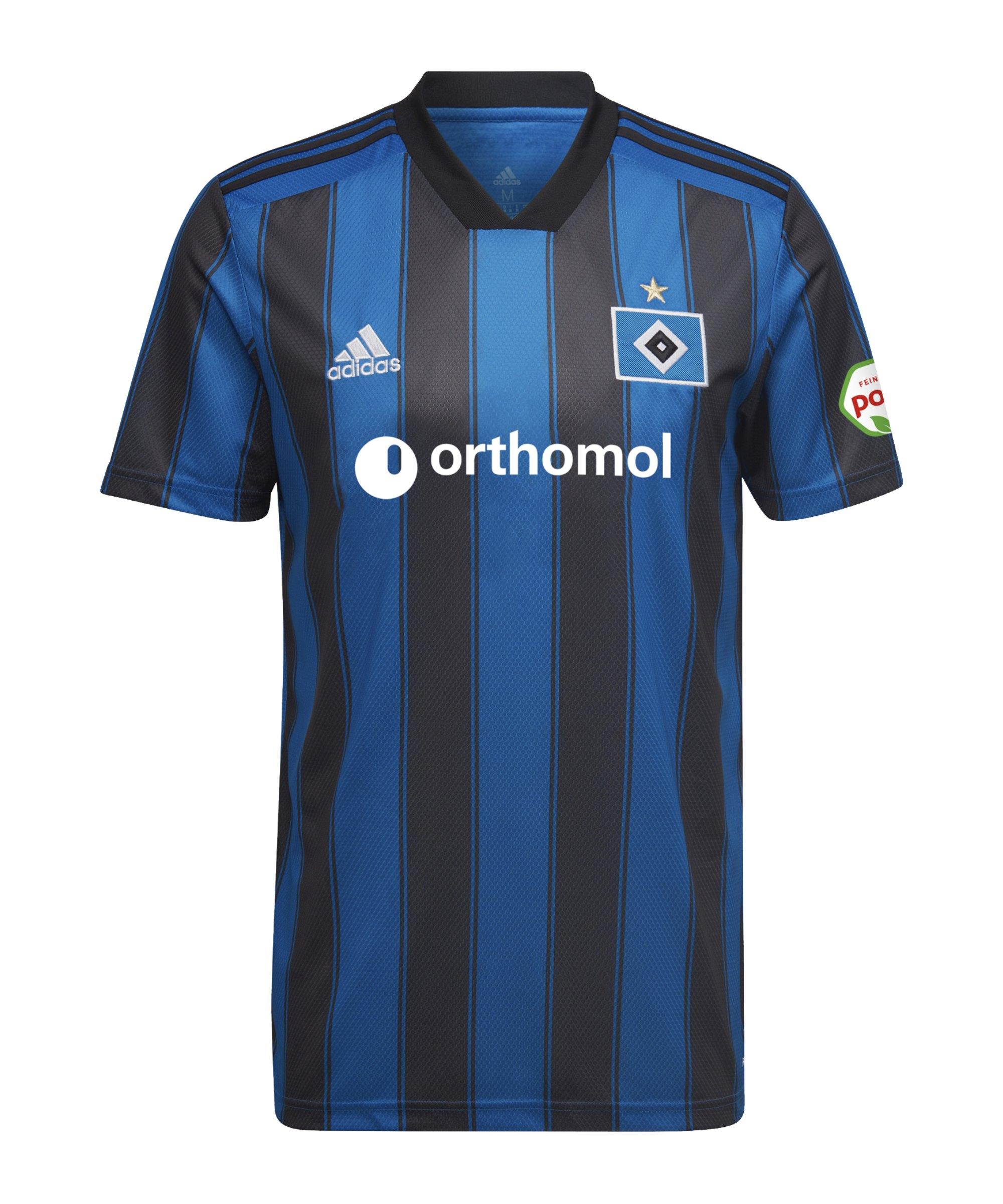 adidas Hamburger SV Trikot Away 2021/2022 Blau - blau