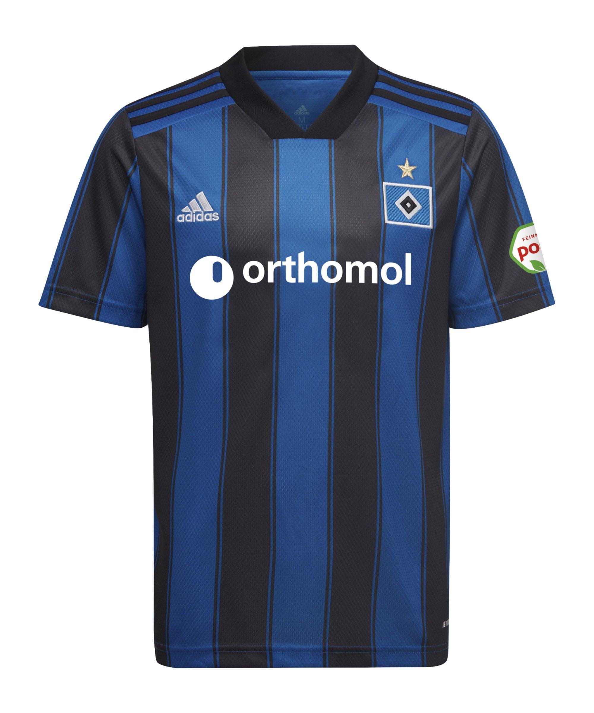adidas Hamburger SV Trikot Away 2021/2022 Kids Blau - blau