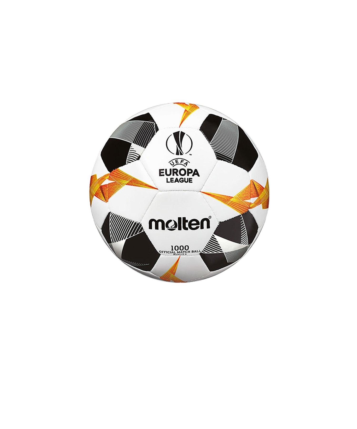 Molten Europa League Miniball Replika 19/20 Weiss - weiss