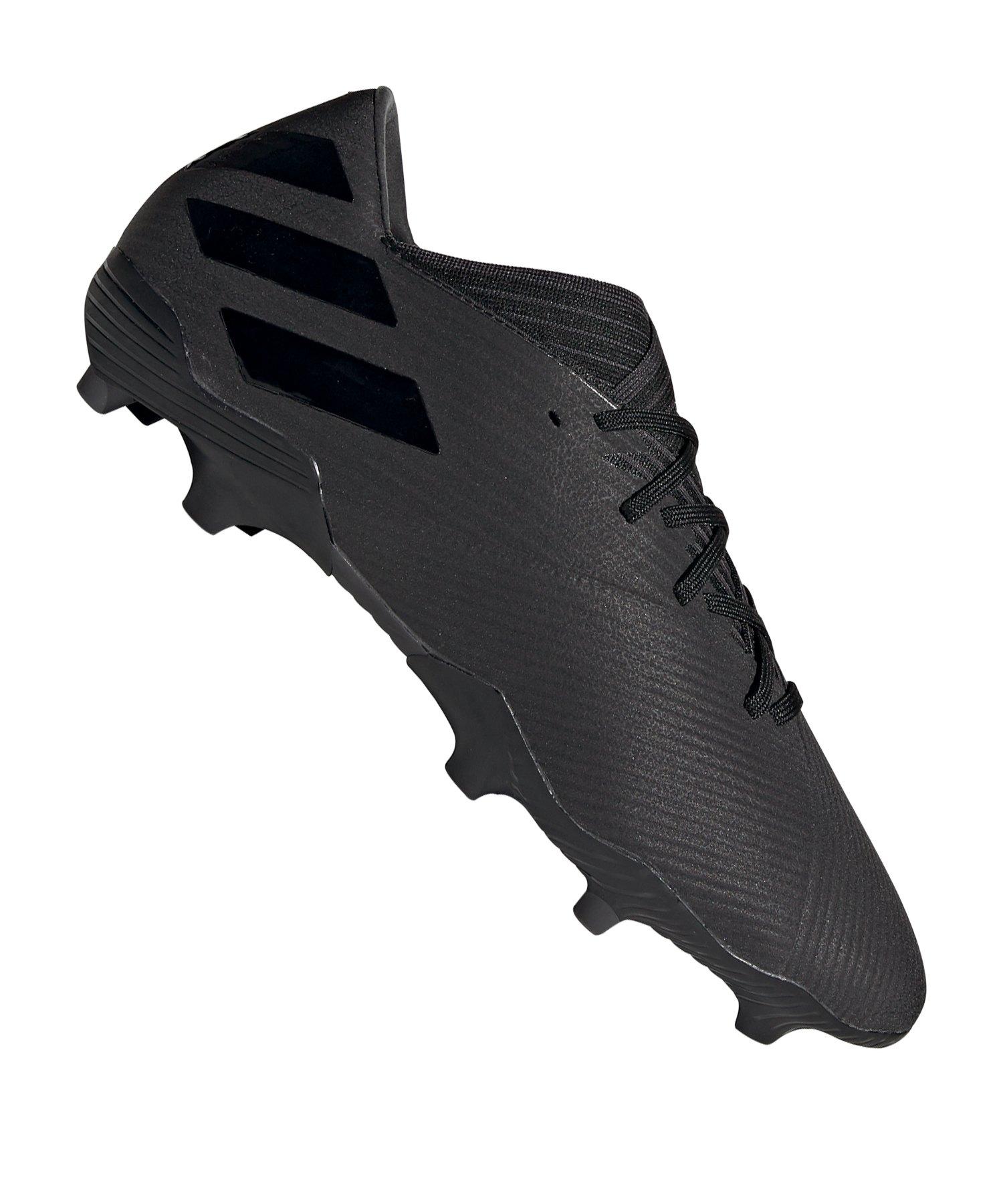 adidas NEMEZIZ 19.2 FG Schwarz - schwarz