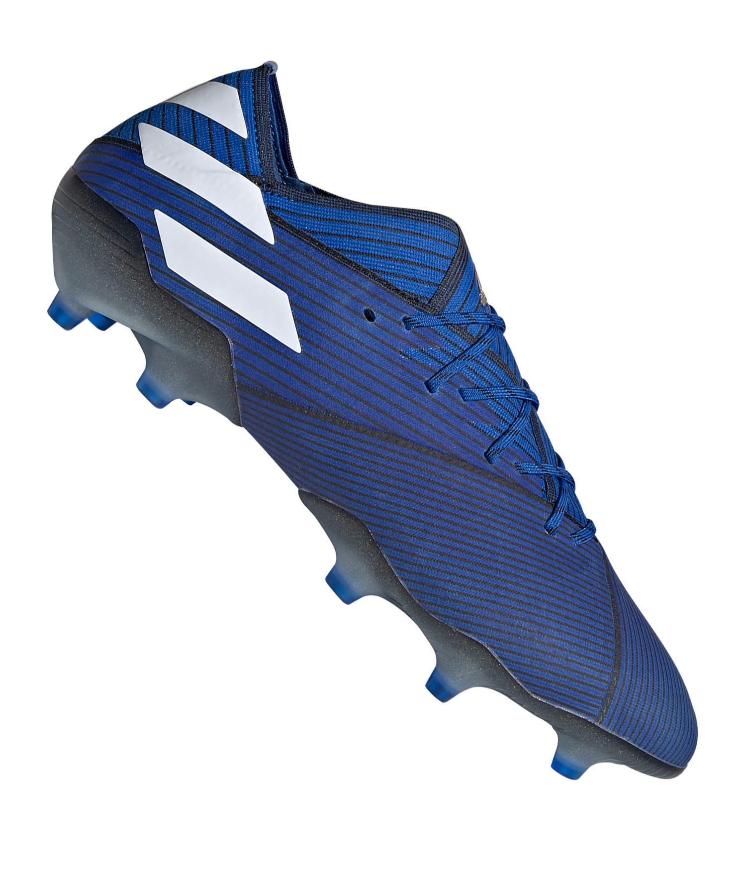 adidas NEMEZIZ 19.1 FG Blau Schwarz - Blau