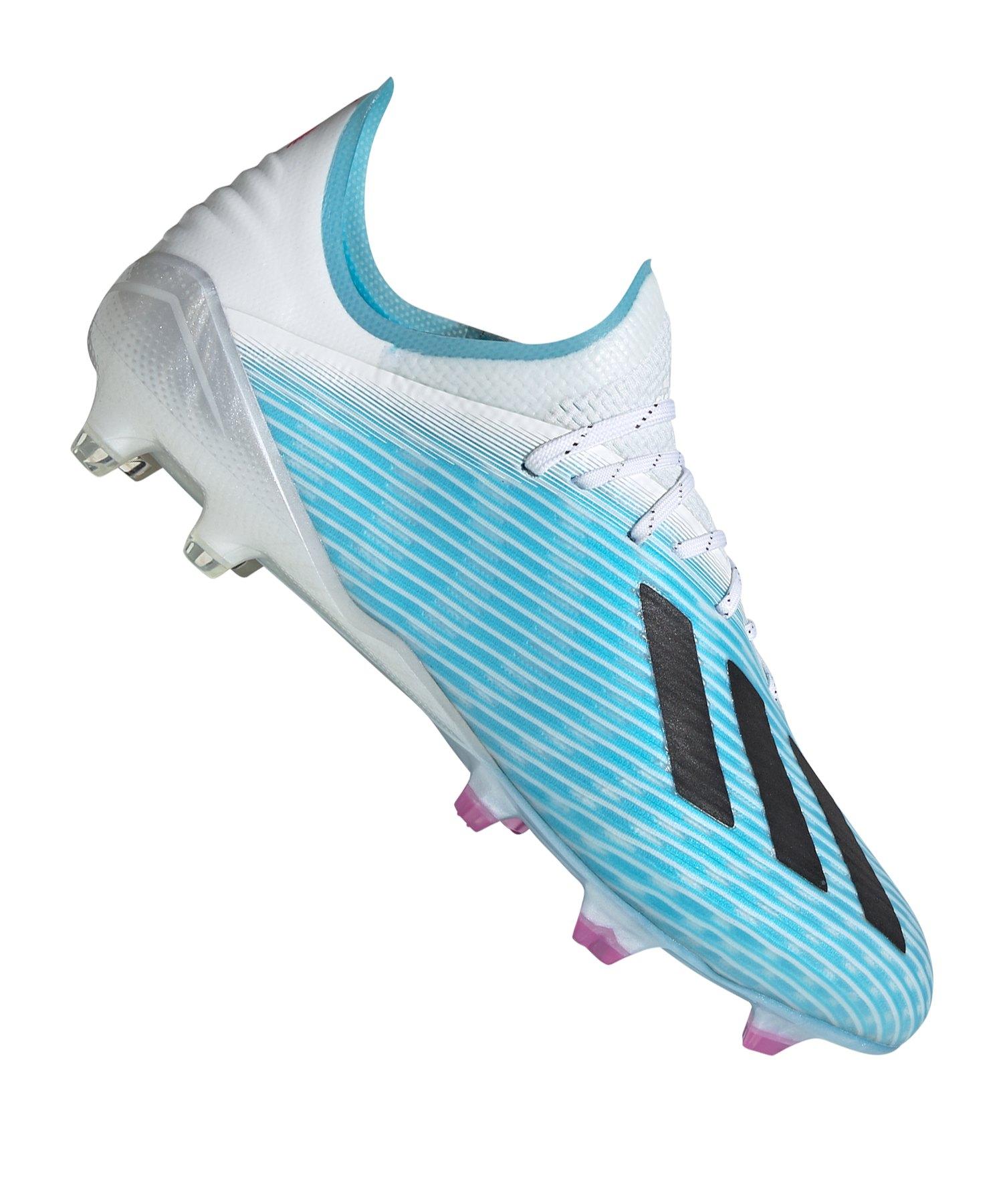 adidas X 19.1 FG Blau Weiss Schwarz - blau
