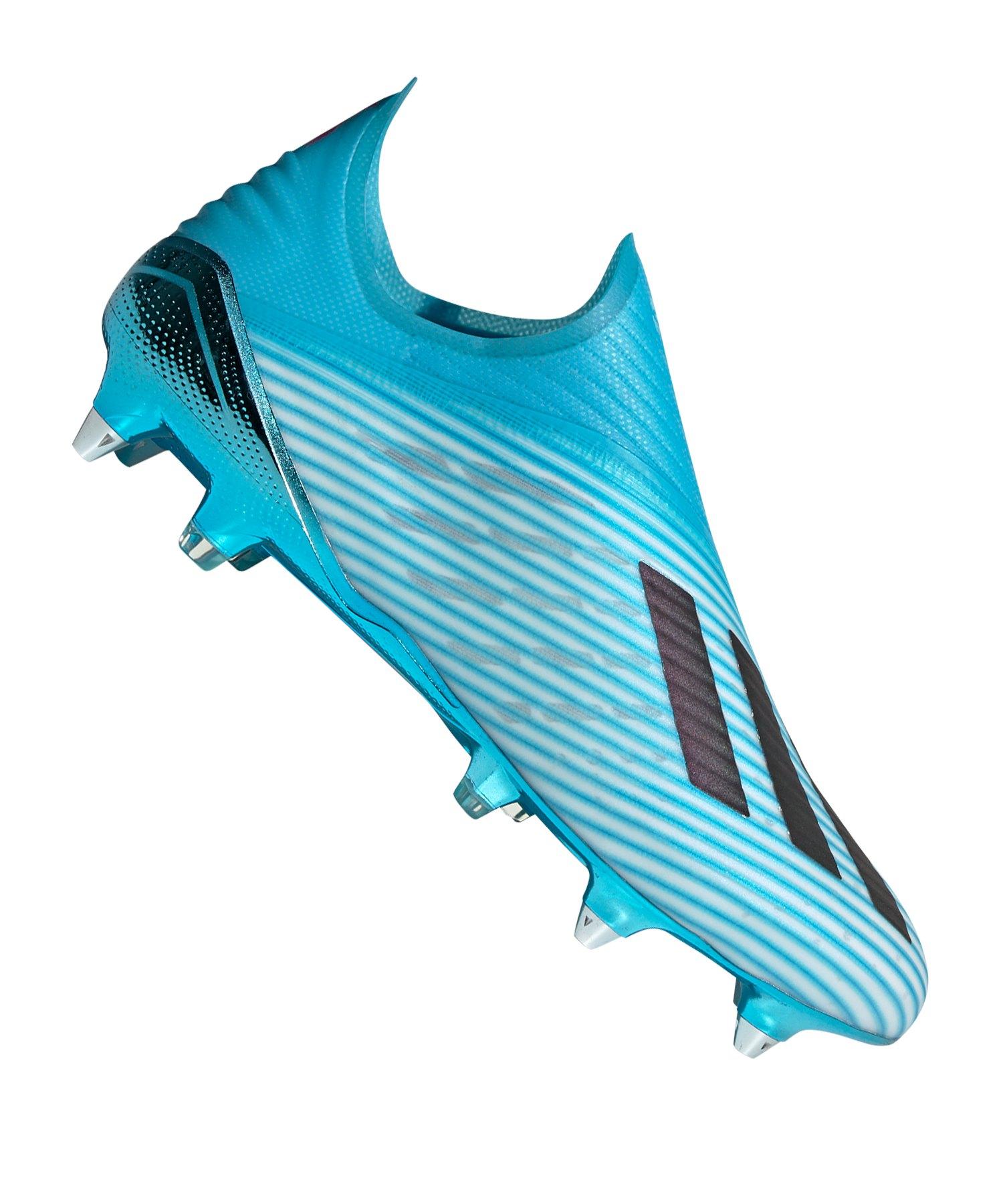 adidas X 19+ SG Blau Weiss Schwarz - blau