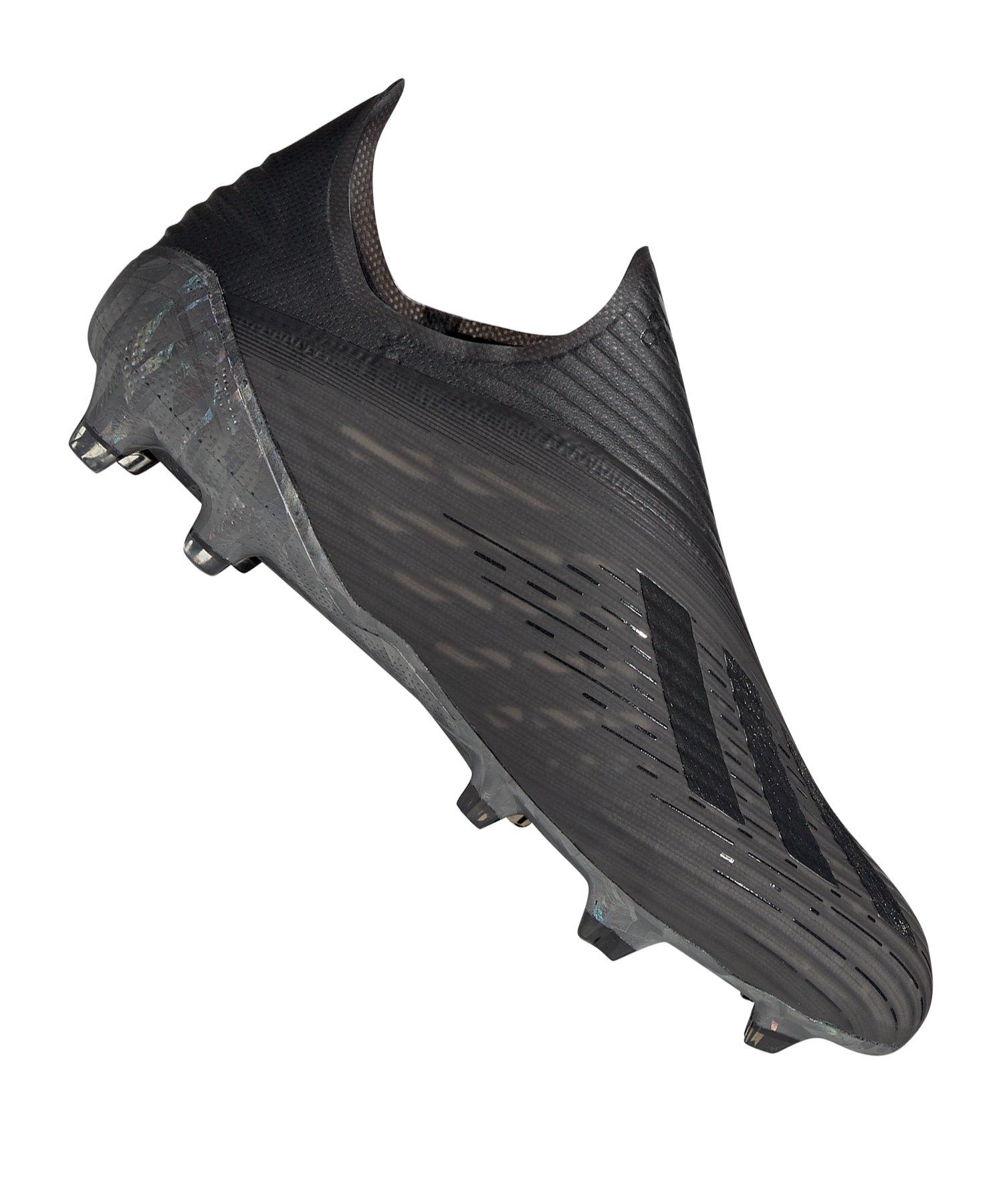 adidas X 19+ FG Schwarz - schwarz
