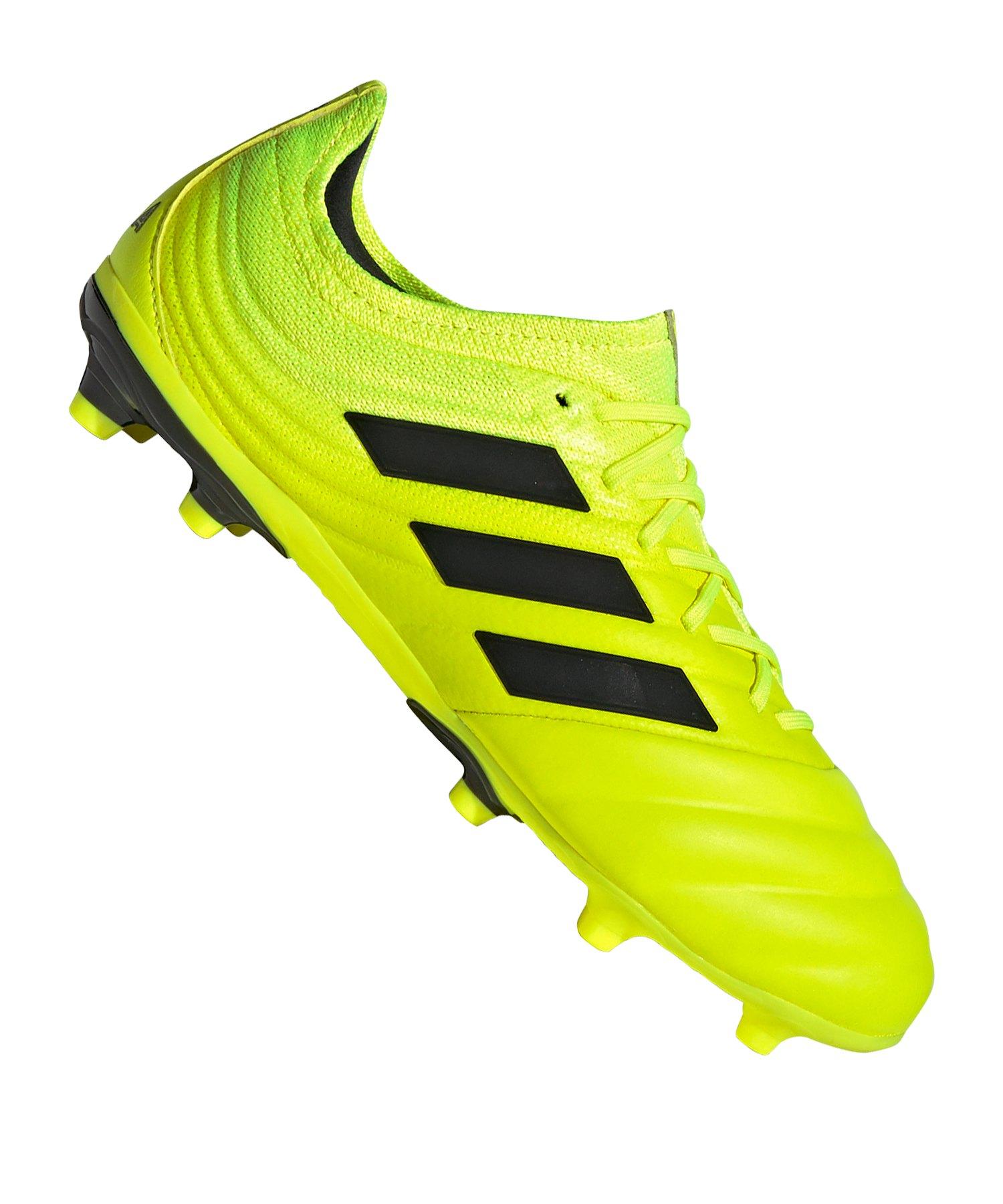 adidas COPA 19.1 FG J Gelb Kids - gelb
