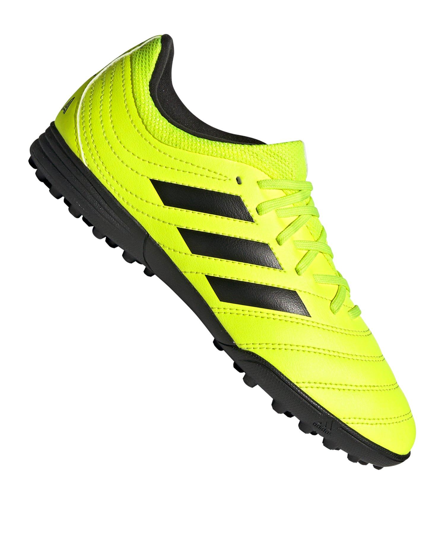 adidas COPA 19.3 TF J Kids Gelb - gelb