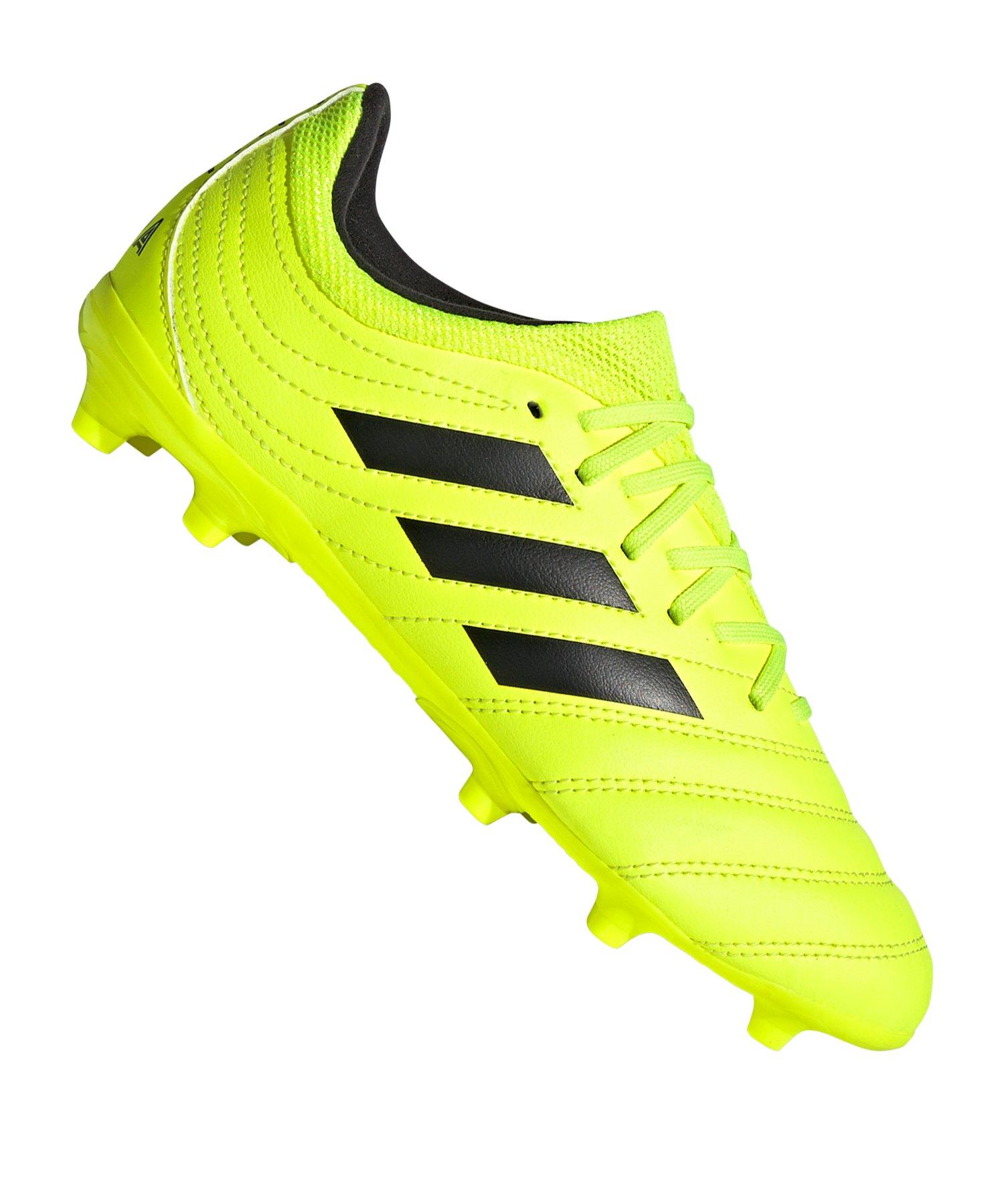 adidas COPA 19.3 FG J Kids Gelb - gelb