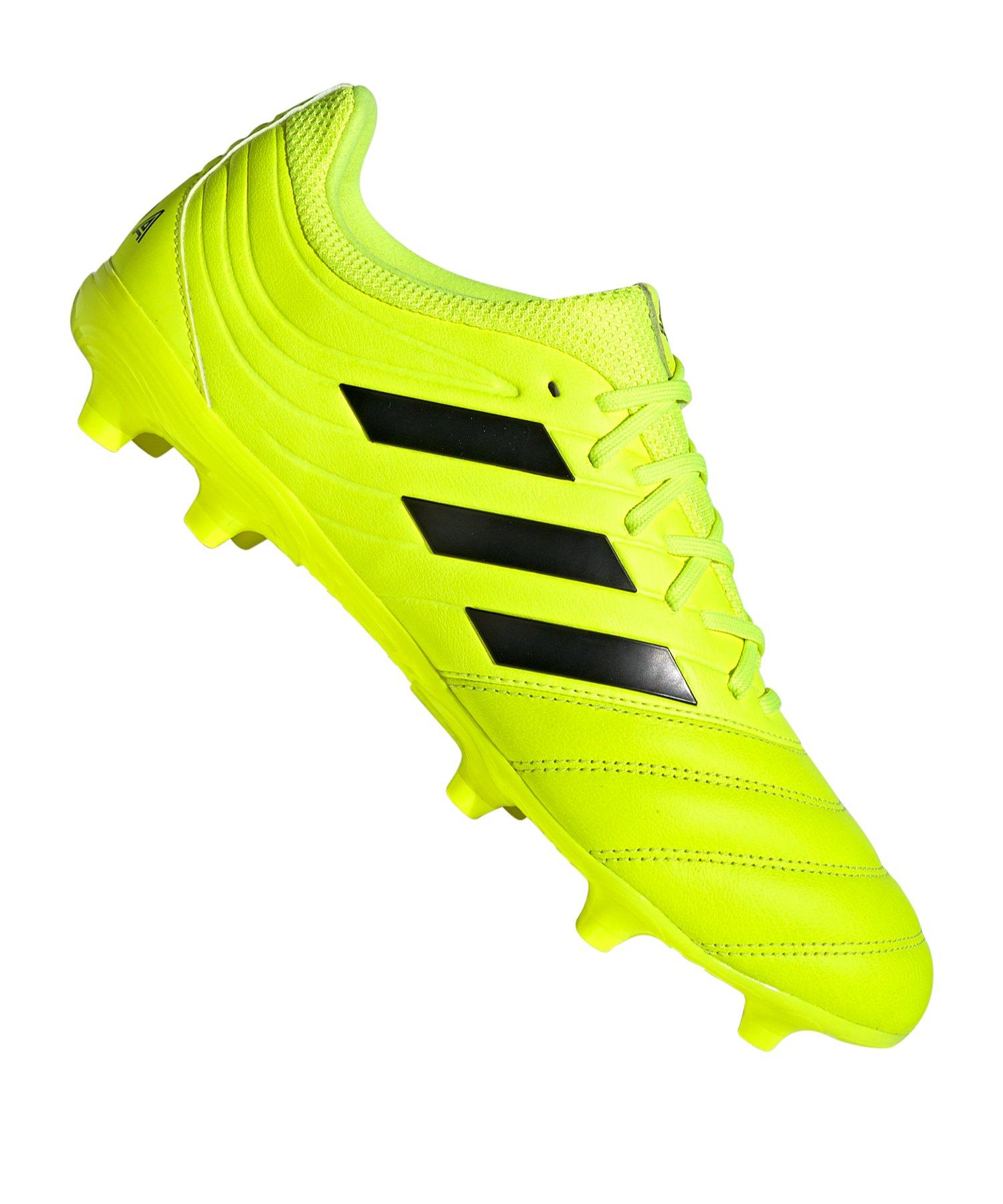 adidas COPA 19.3 FG Gelb - gelb