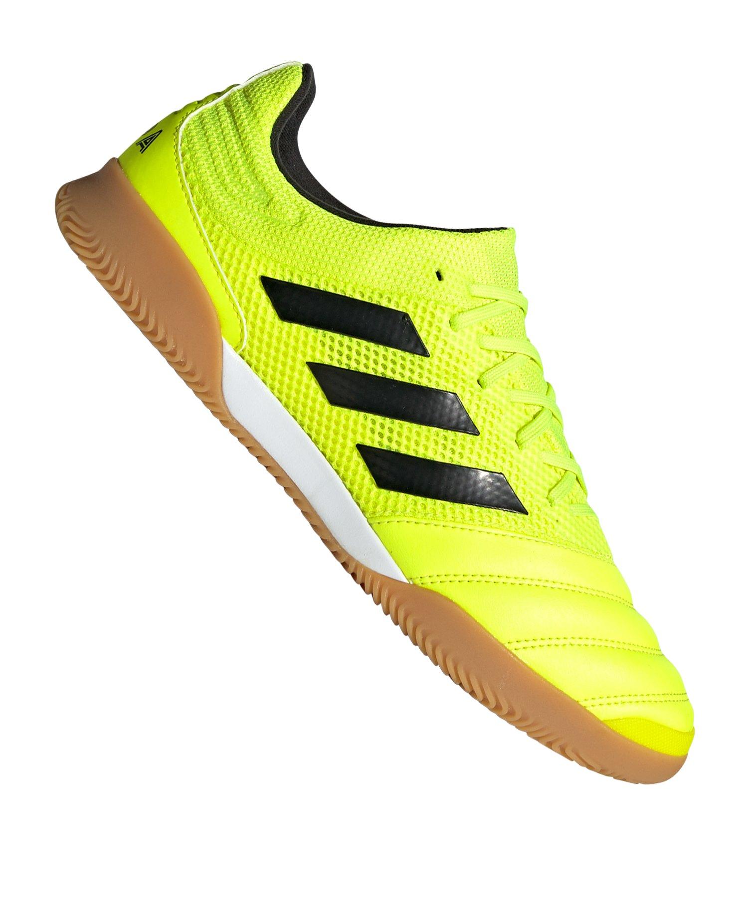adidas COPA 19.3 IN Sala Gelb - gelb