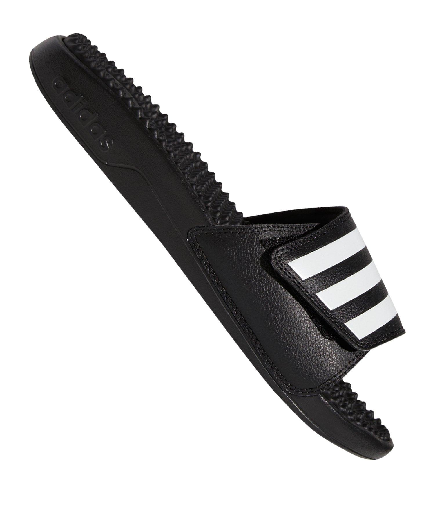 adidas Adilette Adissage TND Badelatsche Schwarz - schwarz