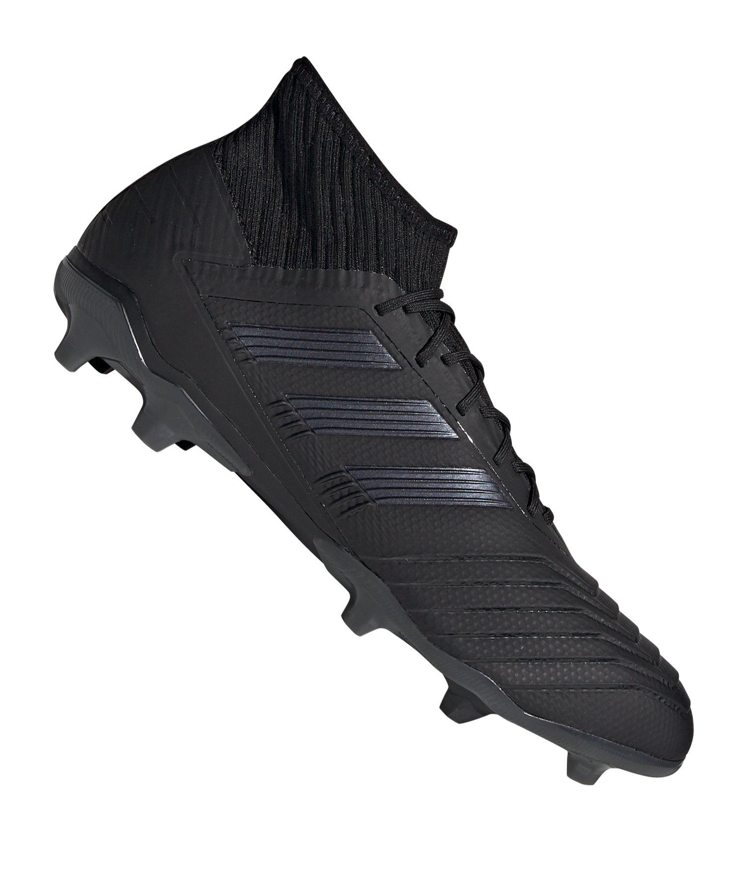 adidas Predator 19.2 FG Schwarz - schwarz