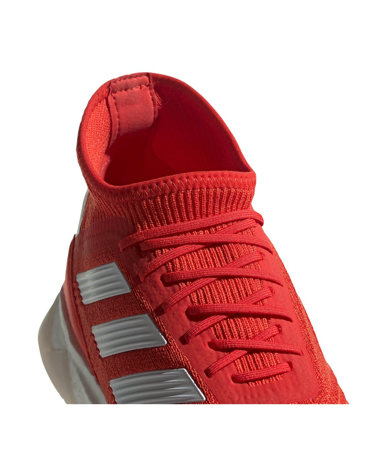 adidas Predator 19.1 TR Rot Silber Weiss