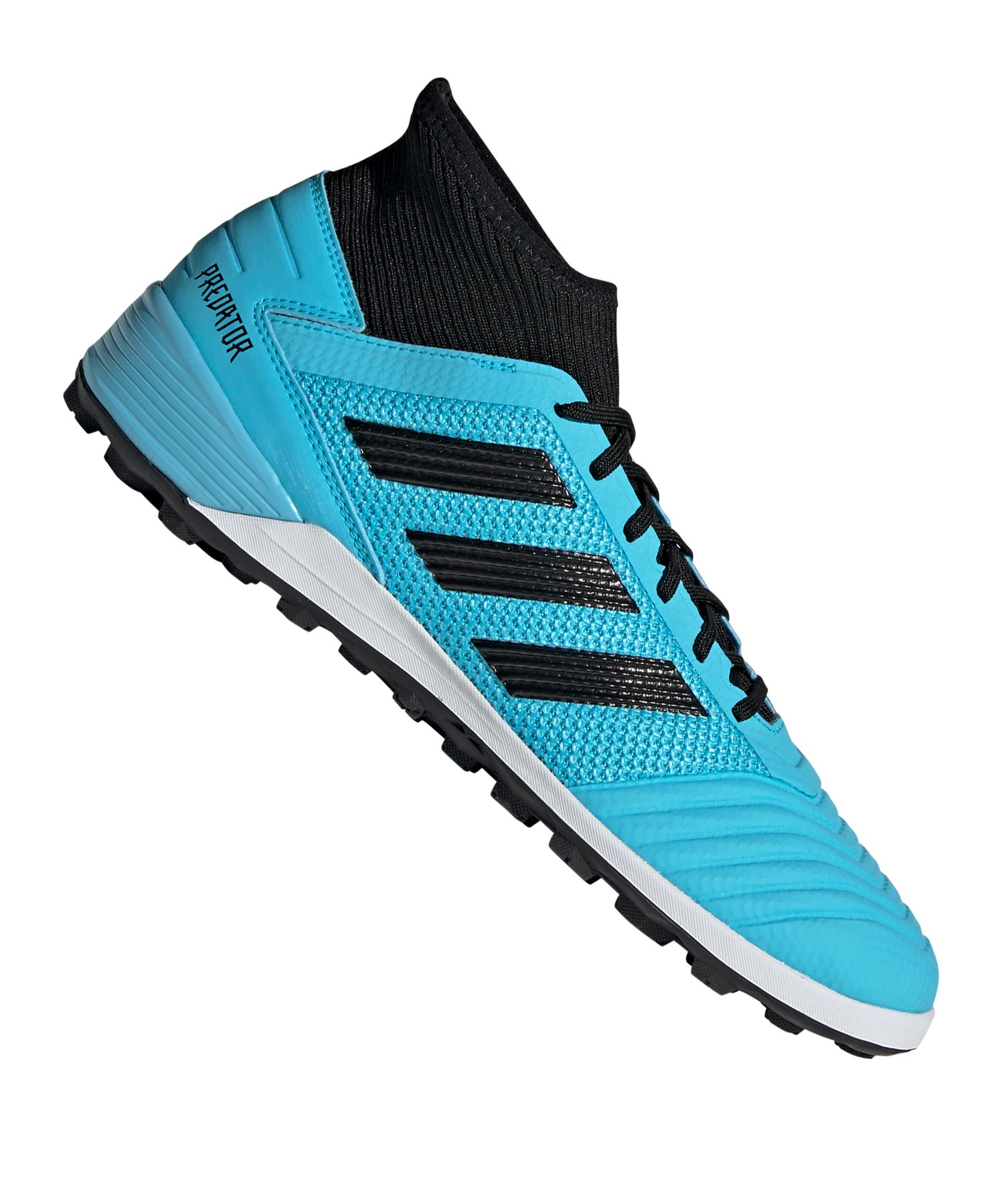 adidas Predator 19.3 TF Blau Schwarz - blau