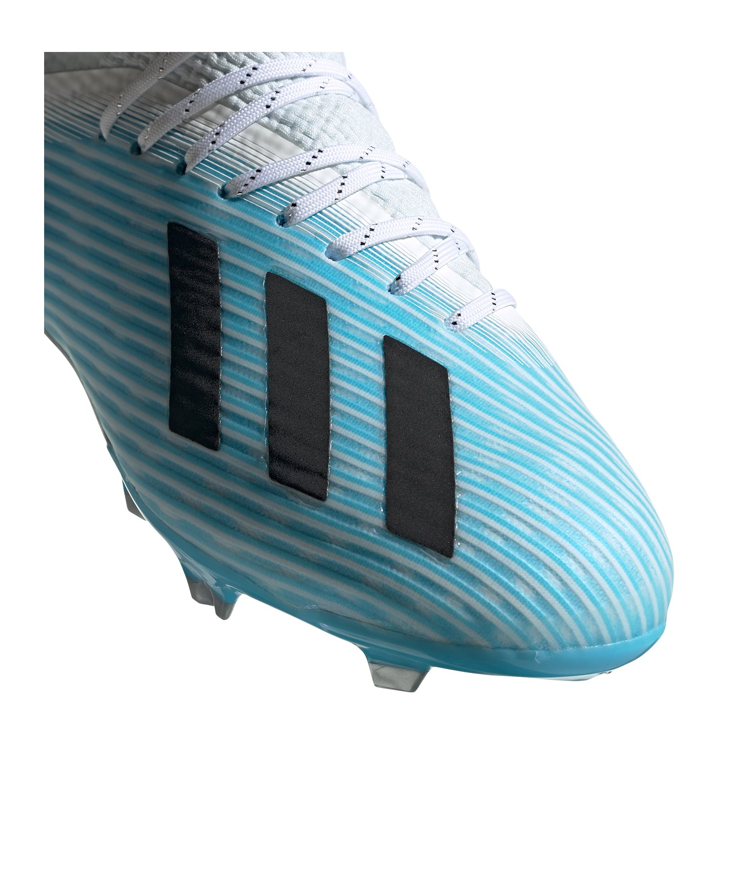 adidas Kinder Fußballschuh X 19.1 FG J silberrot