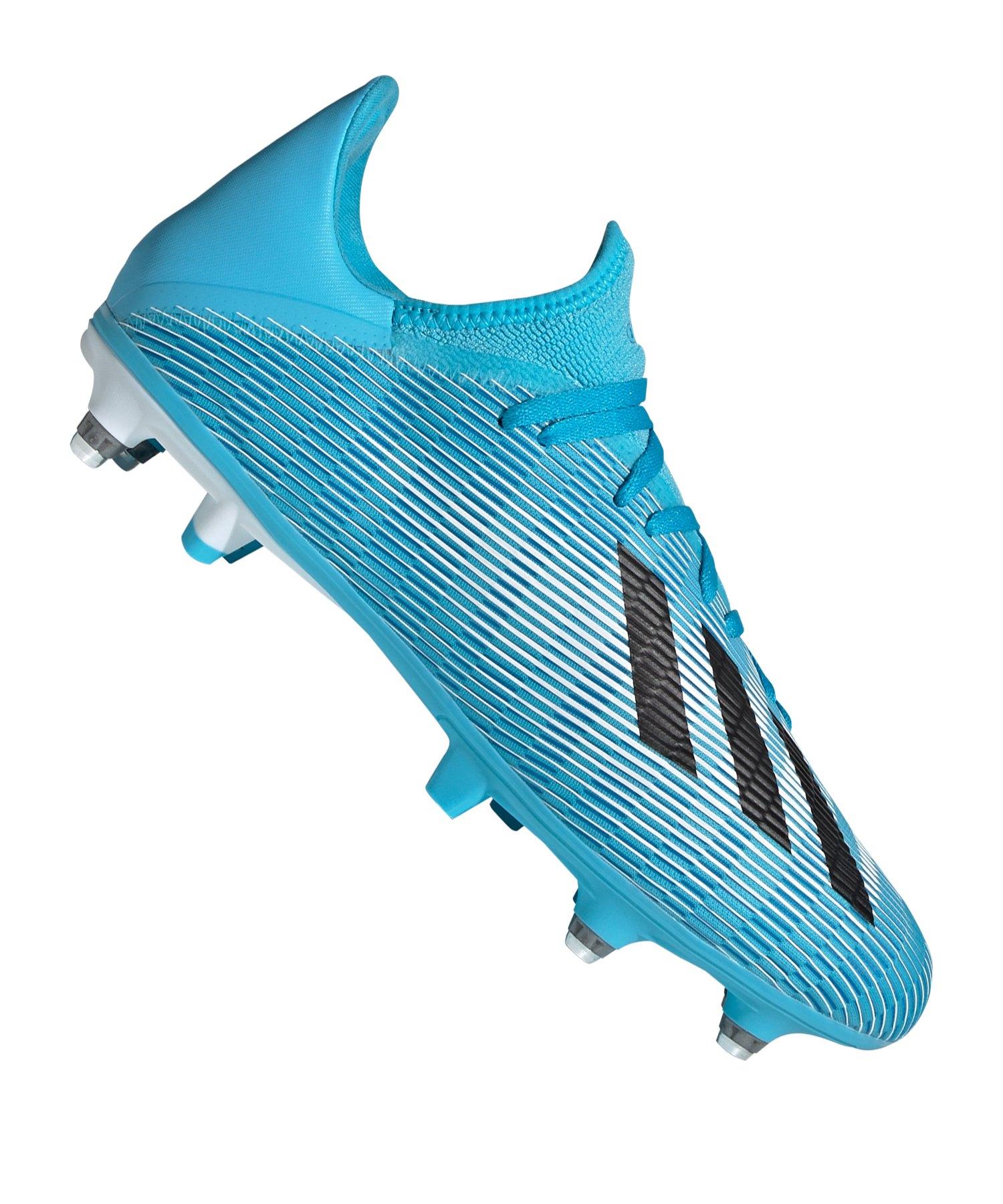 adidas X 19.3 SG Blau Weiss Schwarz - blau