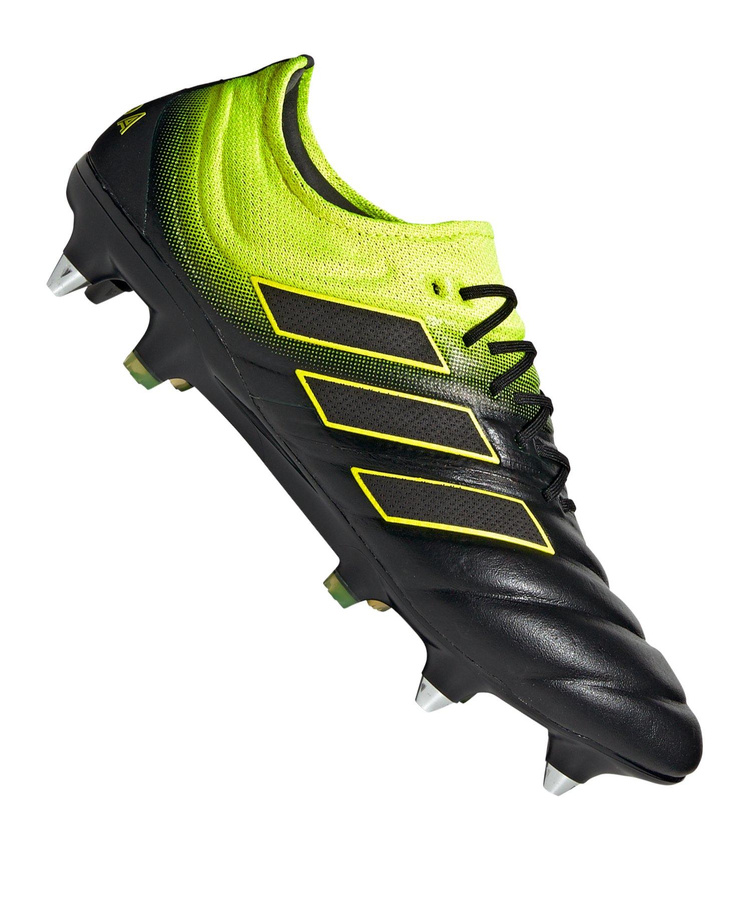 adidas COPA 19.1 SG Schwarz Gelb - schwarz