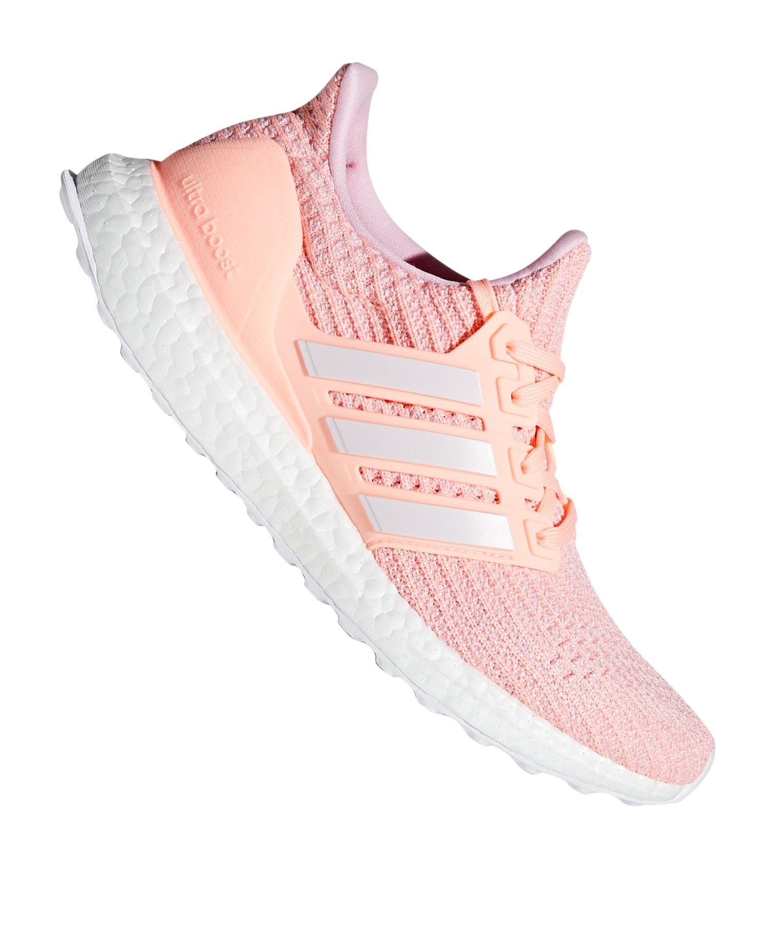 adidas Ultra Boost Sneaker Damen Rosa Weiss - rosa