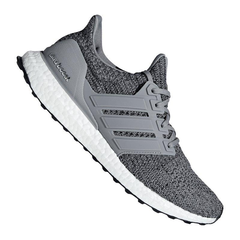 adidas Ultra Boost Sneaker Grau Schwarz - grau