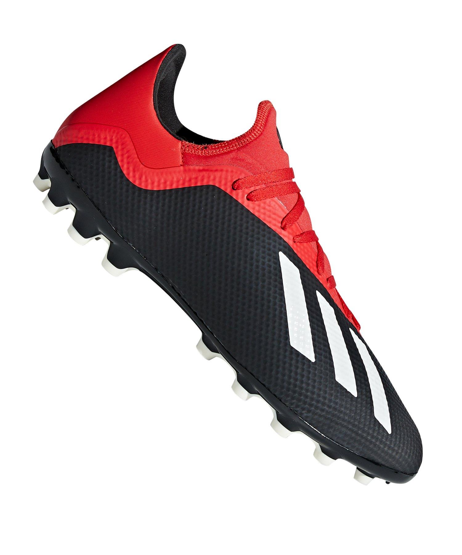 adidas X 18.3 AG Schwarz Rot - schwarz