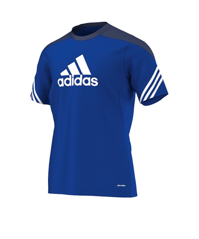 adidas Trainingsshirt Sereno 14 Blau Weiss