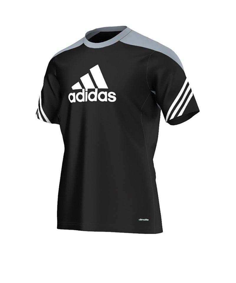 adidas Trainingsshirt Sereno 14 Schwarz - schwarz