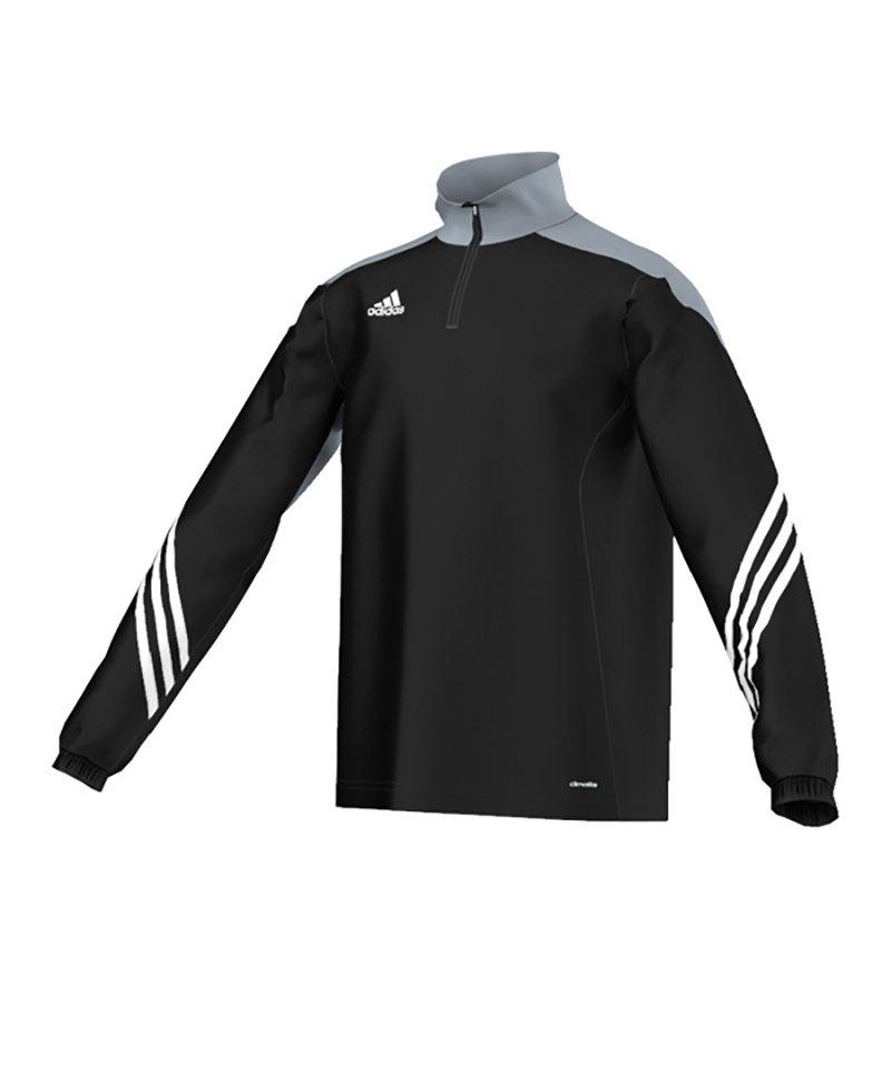 adidas Sweatshirt Sereno 14 Kinder Schwarz - schwarz