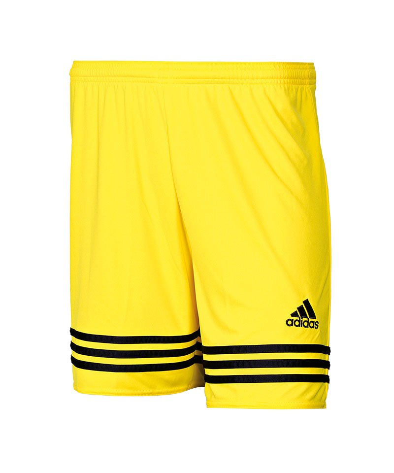 adidas Short Entrada 14 Gelb Schwarz - gelb