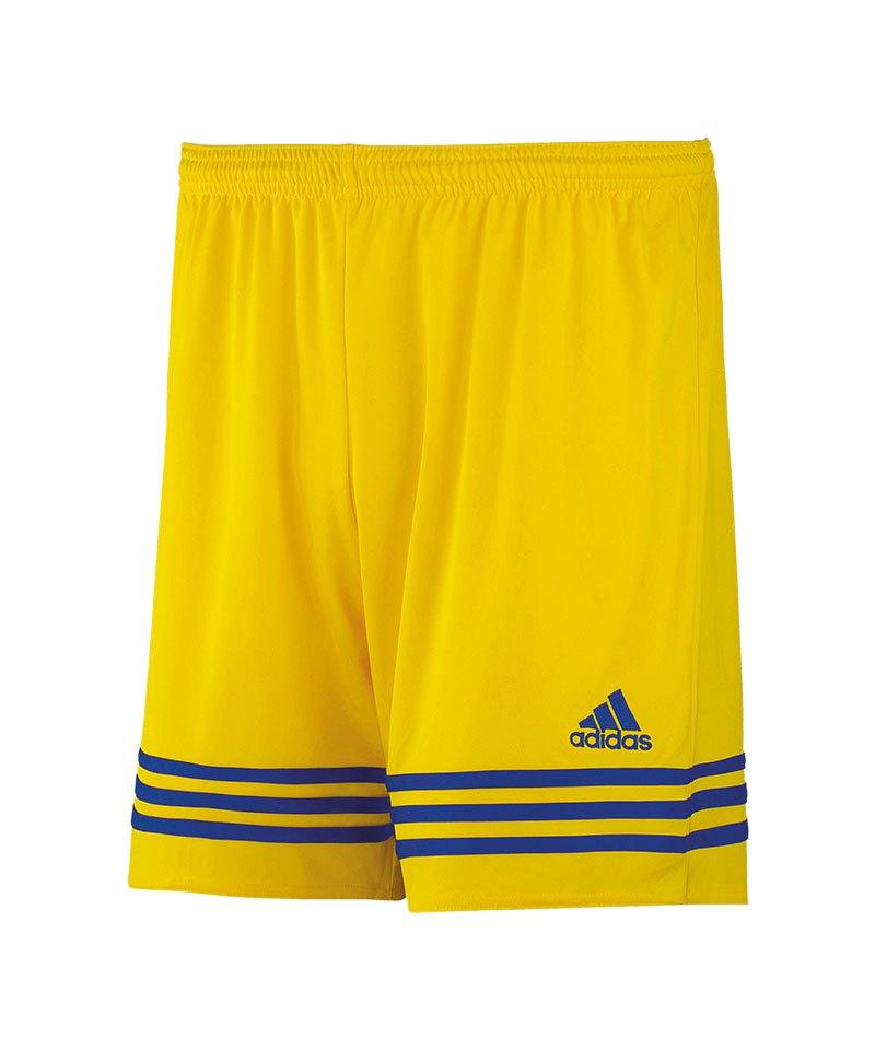 adidas Short Entrada 14 Kinder Gelb Blau - gelb