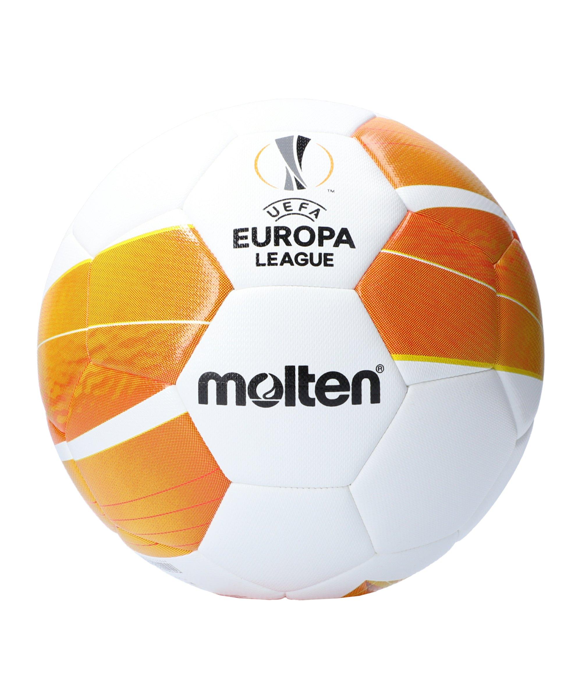 Molten Europa League 20/21 Replica Ball Weiss - weiss