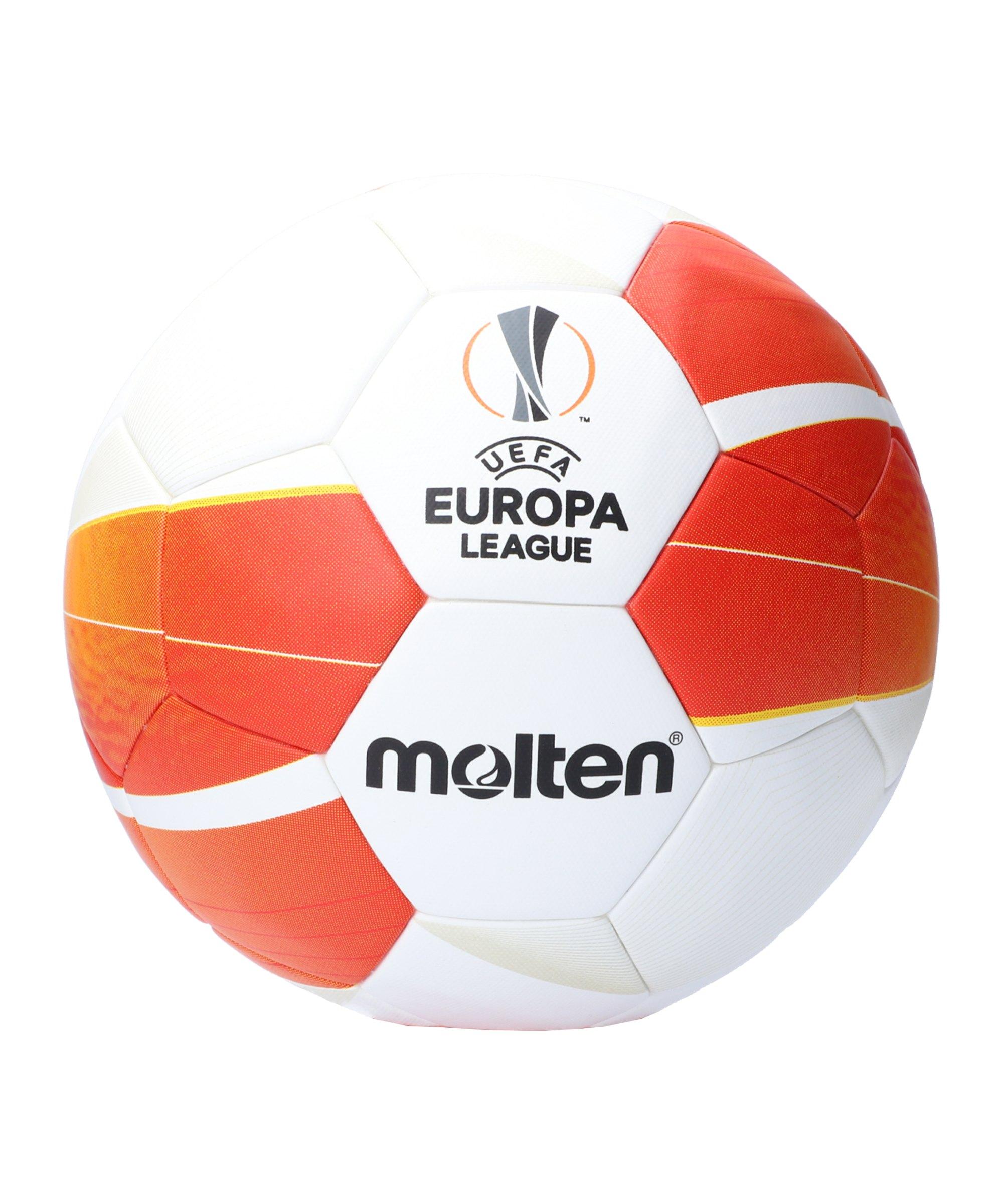 Molten UEFA Europa League 20/21 Spielball Weiss - weiss