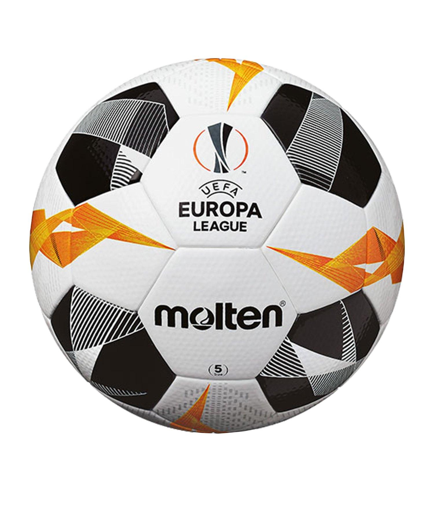 Molten Offizieller Spielball Europa League 19/20 Weiss - weiss