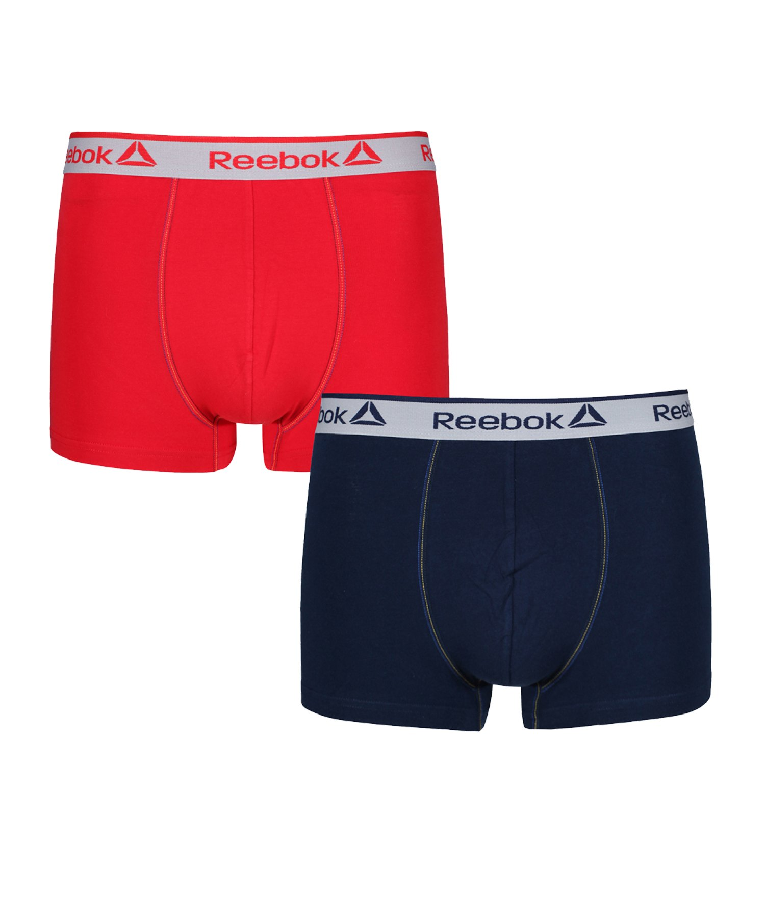 Reebok 2er Pack Trunk BILLY BoxershortBlau und Rot - blau