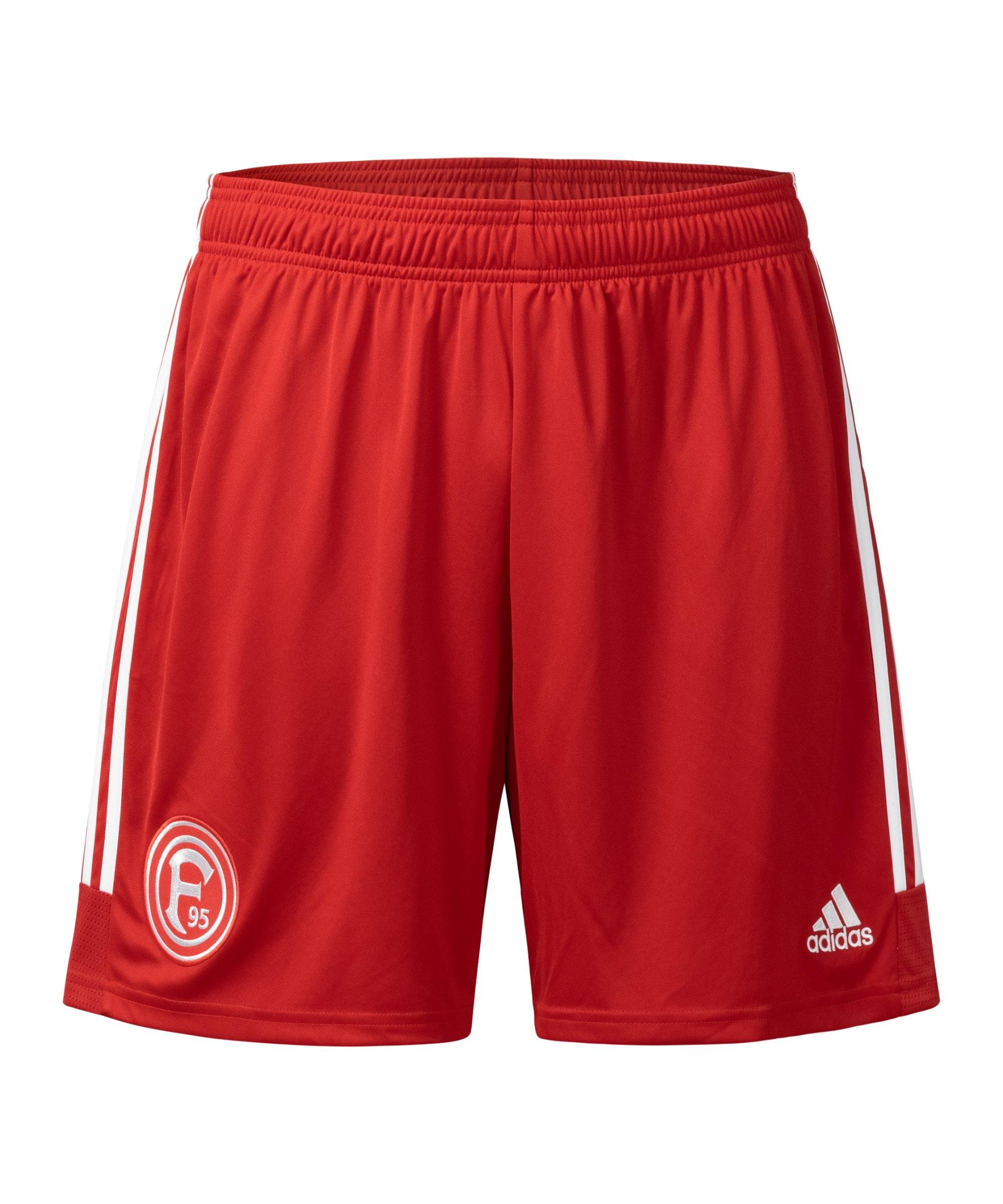 adidas Fortuna Düsseldorf Short Home 2021/2022 Rot - rot
