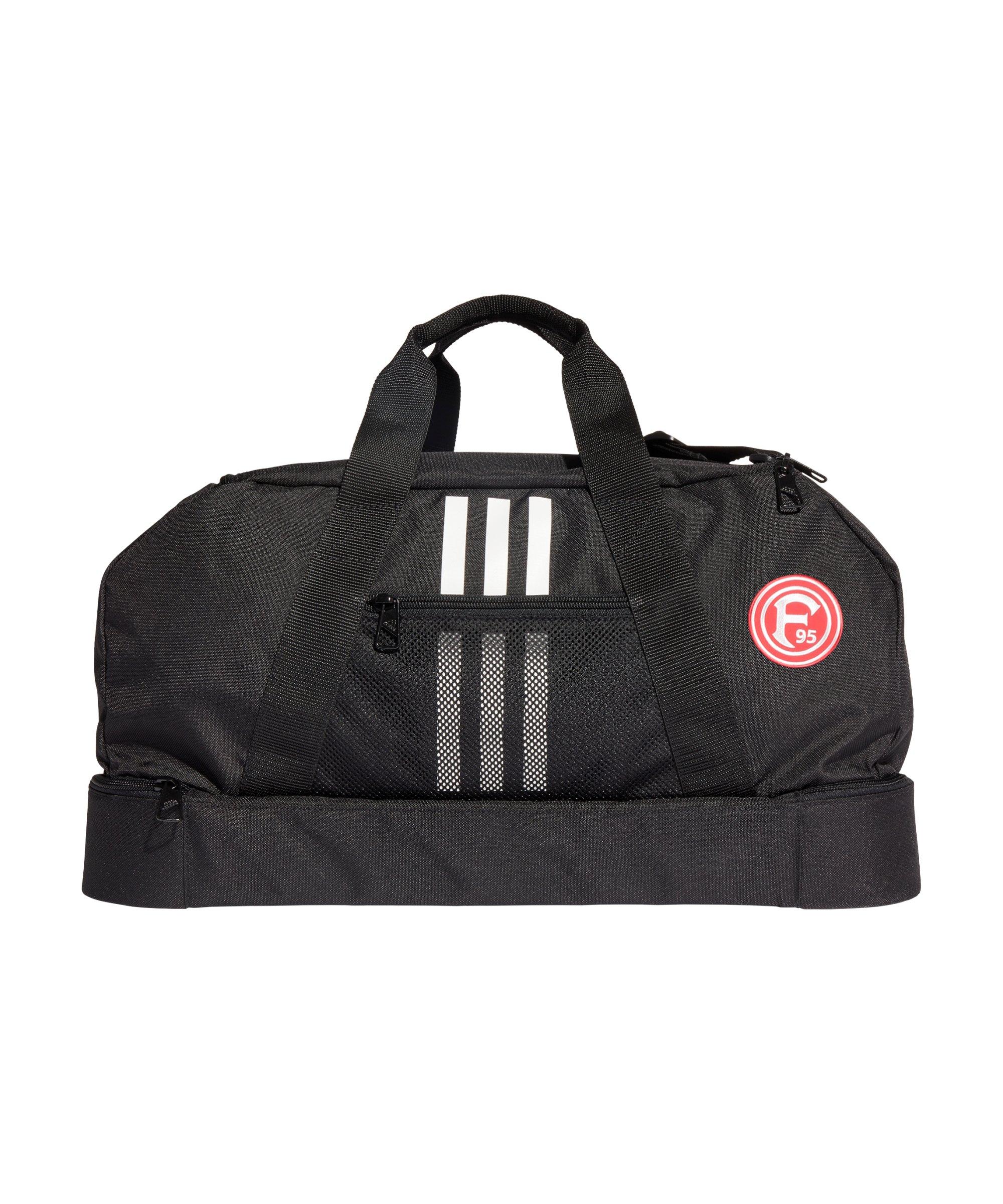 adidas Fortuna Düsseldorf Tasche Schwarz - schwarz