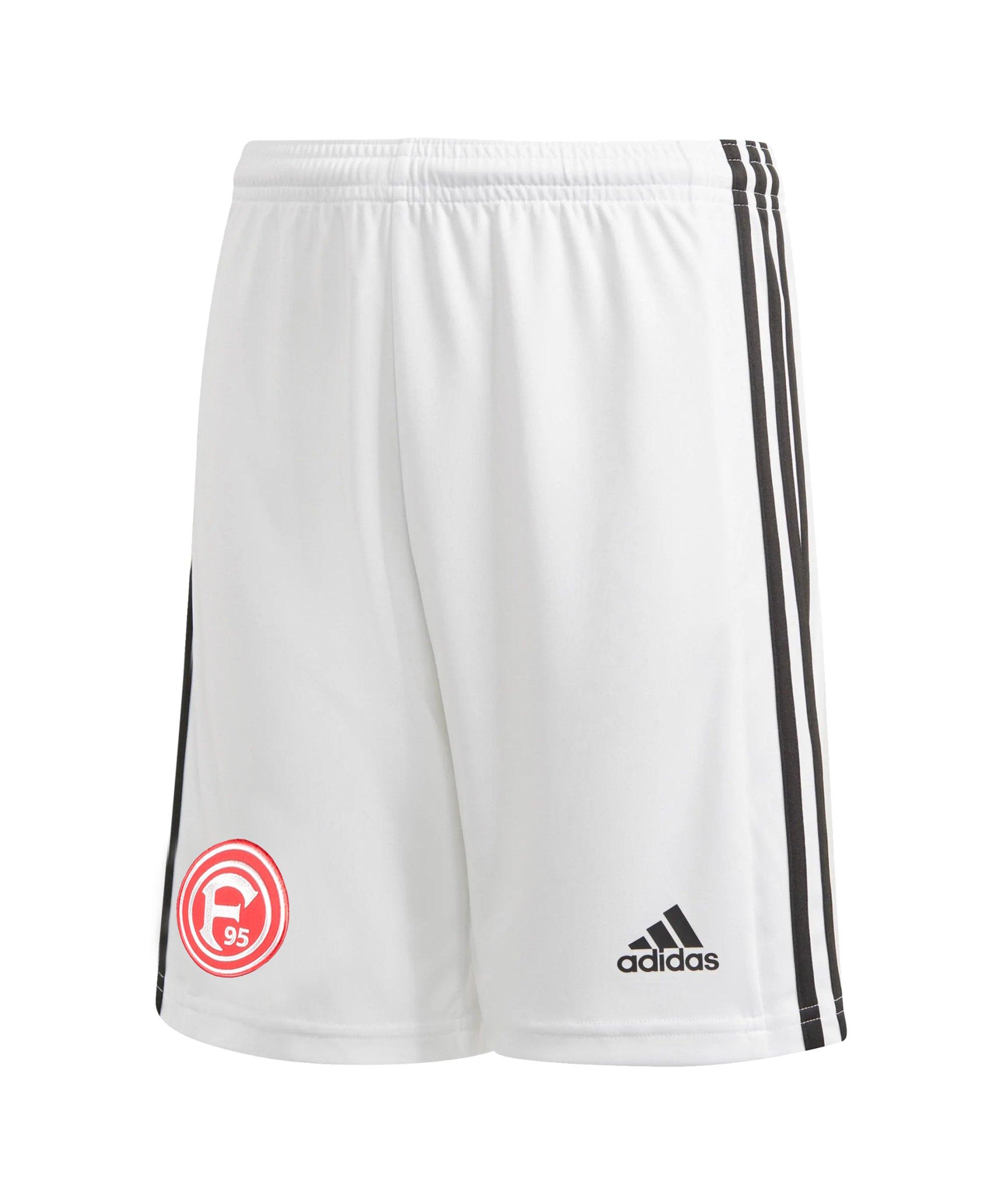adidas Fortuna Düsseldorf Short Away 2021/2022 Kids Weiss - weiss