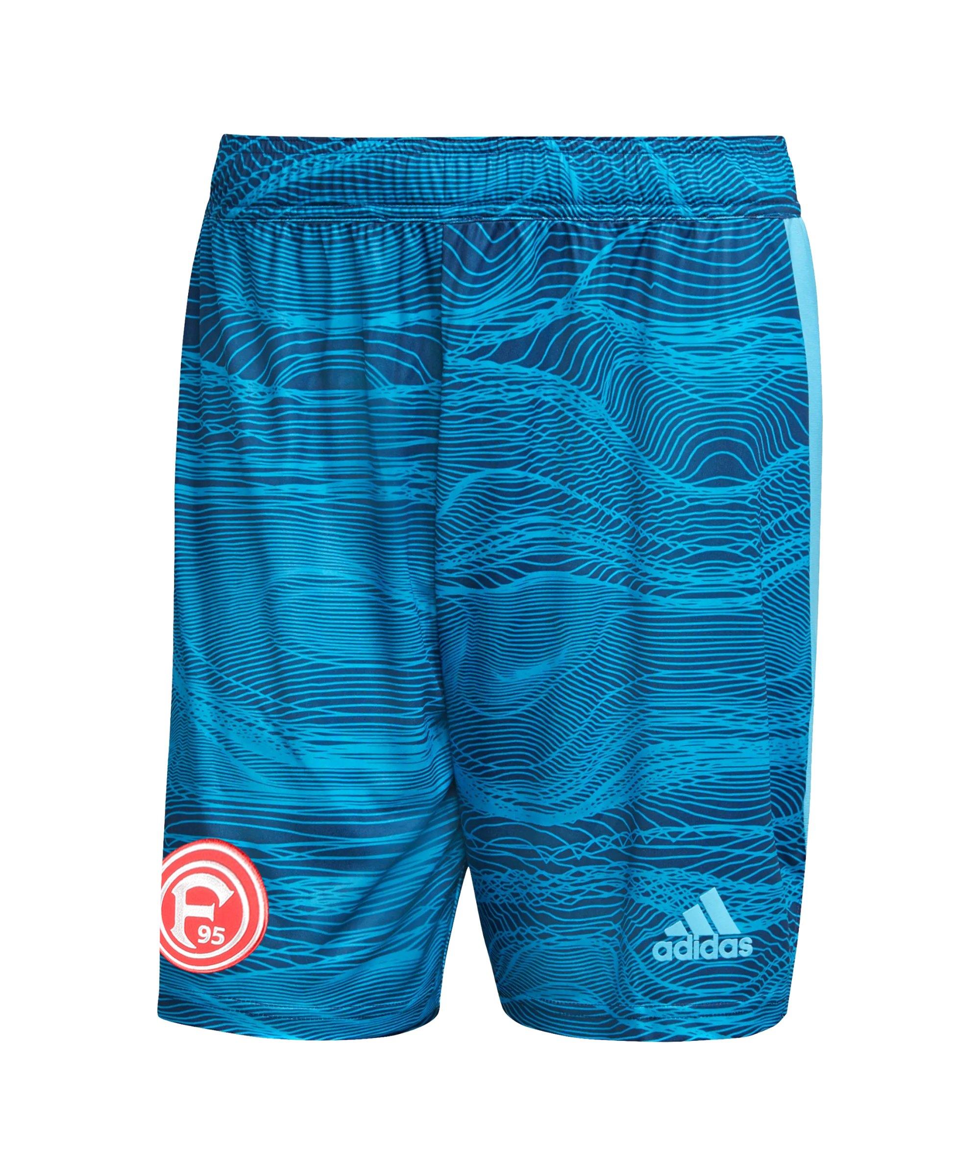 adidas Fortuna Düsseldorf TW-Short 2021/2022 Blau - blau