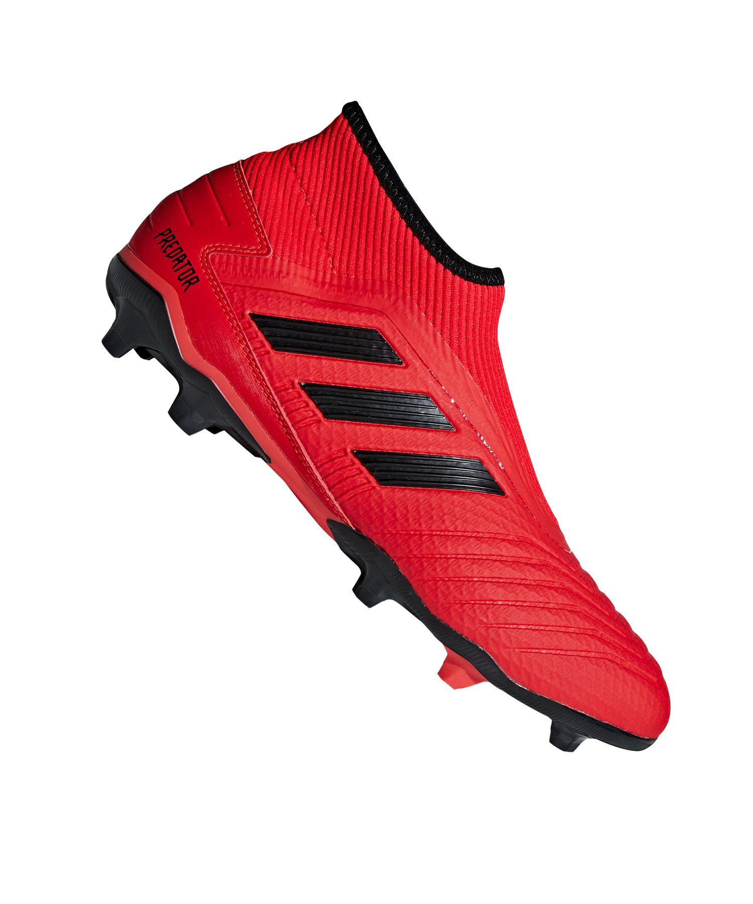 adidas Predator 19.3 LL FG Rot Schwarz - rot