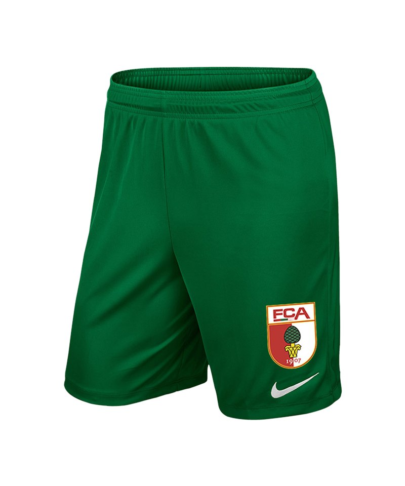 Nike FC Augsburg Short Away Kids 18/19 Grün F302 - gruen