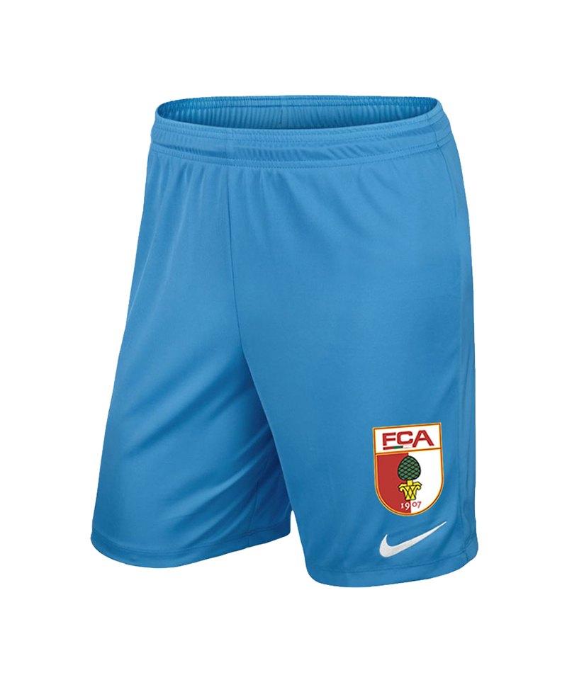 Nike FC Augsburg Torwartshort Kids 18/19 Blau F412 - blau