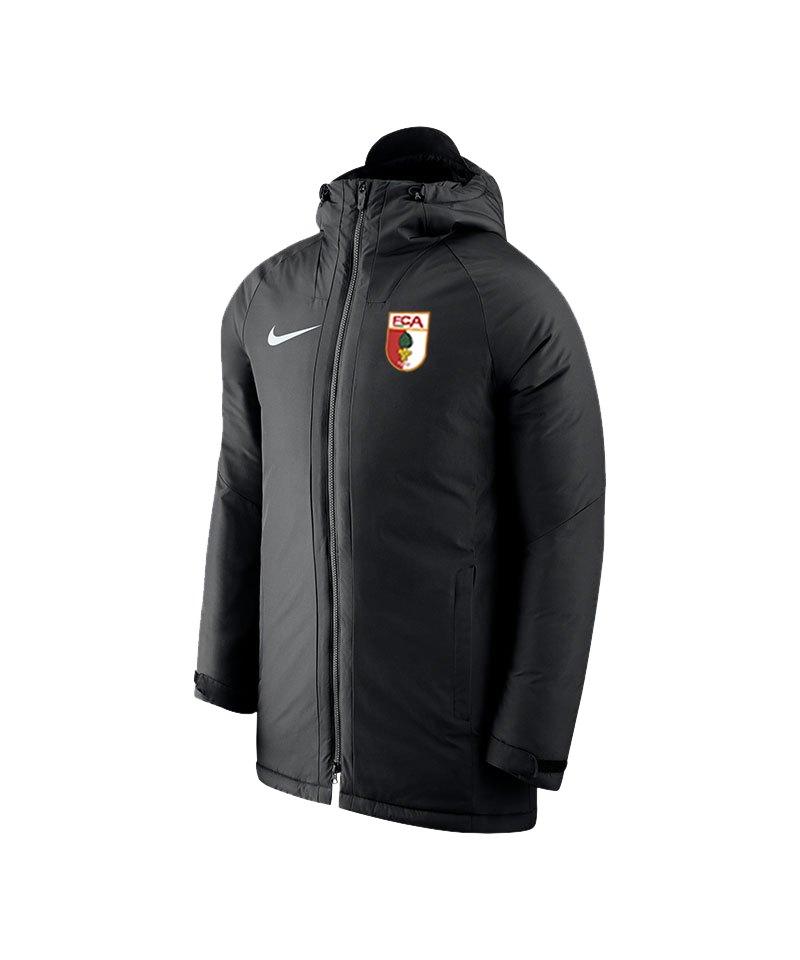 Nike FC Augsburg Stadionjacke Schwarz F010 - schwarz