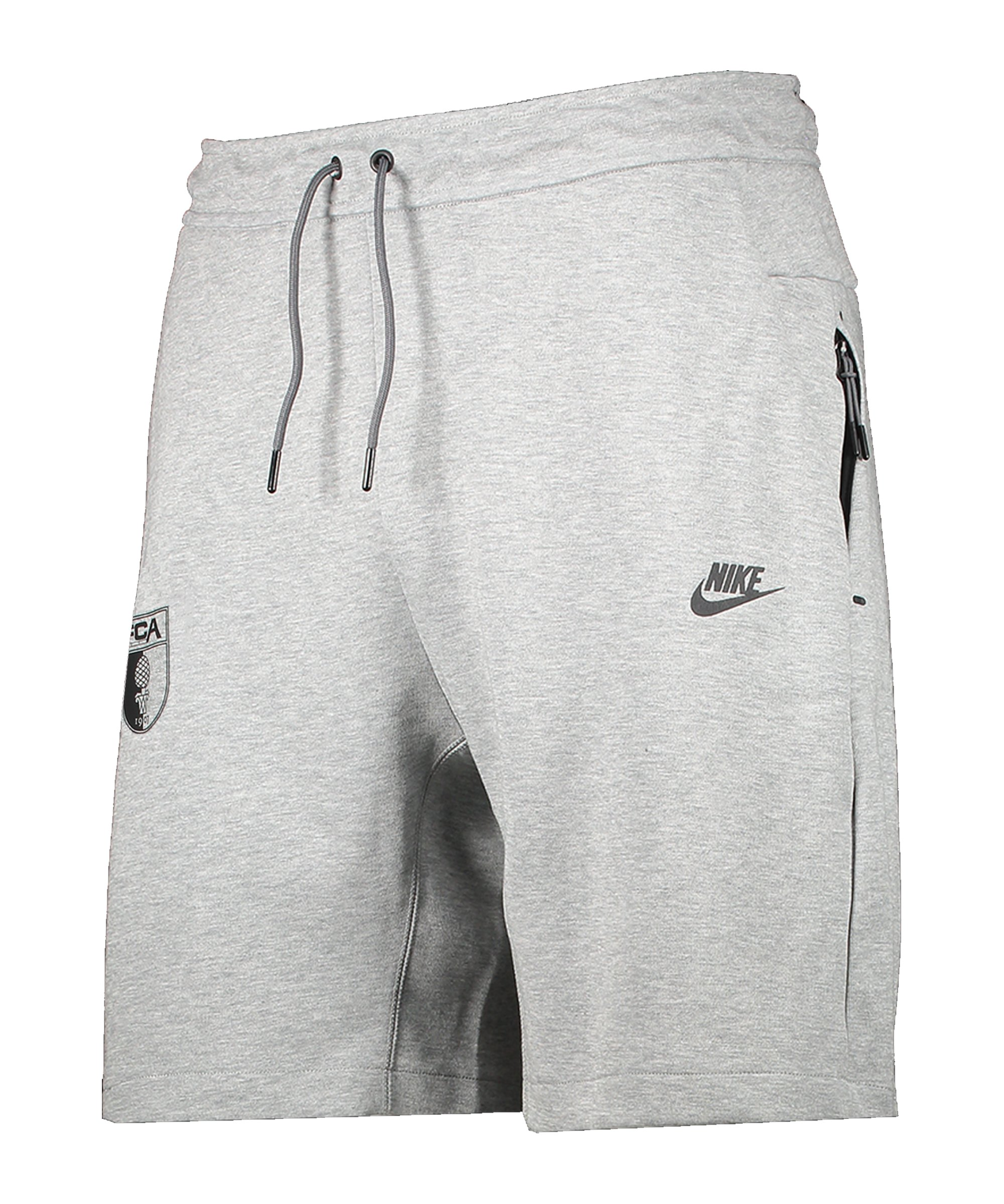 Nike FC Augsburg Fleece Short Grau F063 - grau