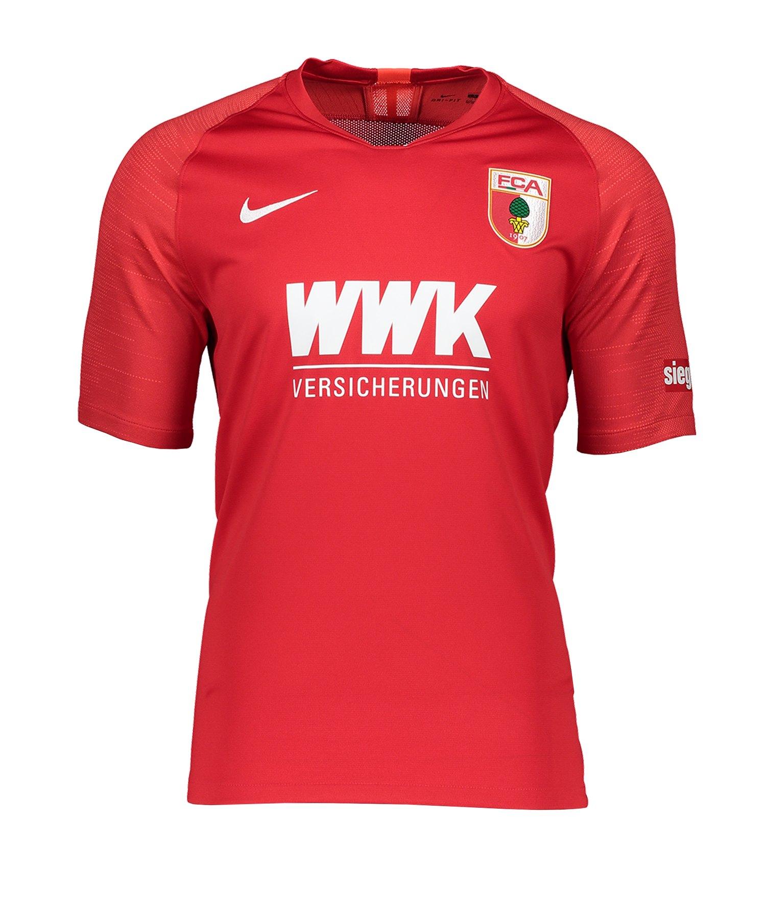 Nike FC Augsburg Trikot 3rd 2019/2020 Rot F657 - rot