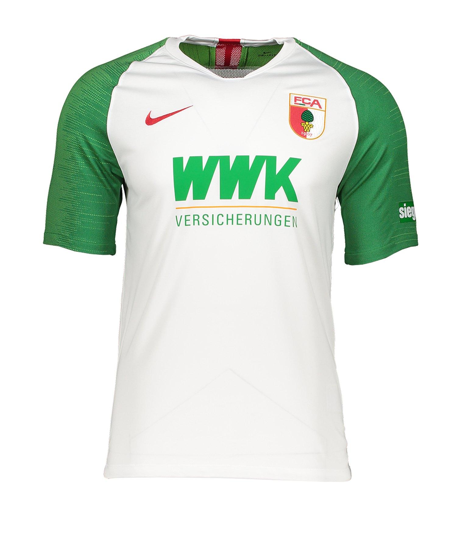 Nike FC Augsburg Trikot Home 2019/2020 Kids Weiss F103 - weiss