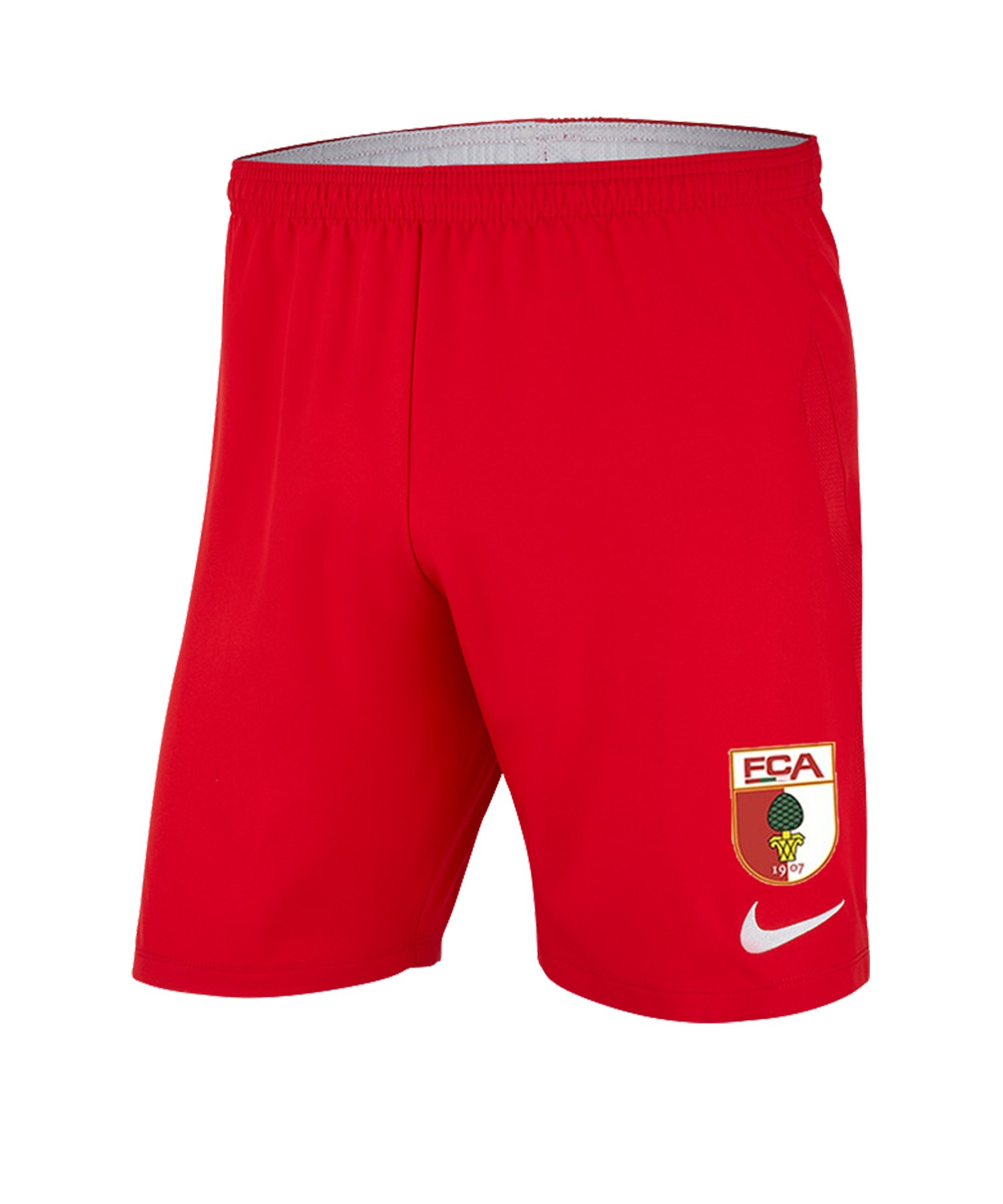 Nike FC Augsburg Short 3rd 2019/2020 Rot F657 - rot
