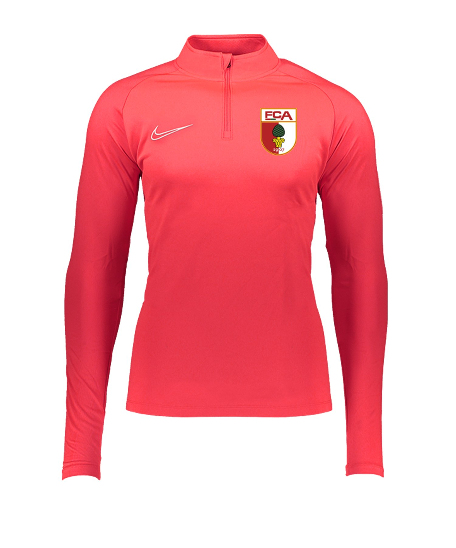 Nike FC Augsburg Trainingstop langarm Rot F671 - rot
