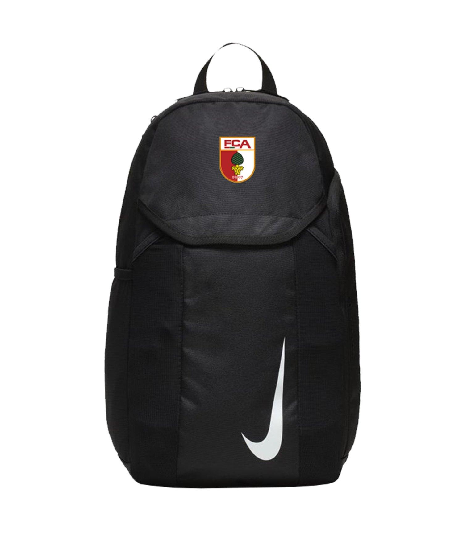 Nike FC Augsburg Rucksack Schwarz F010 - schwarz
